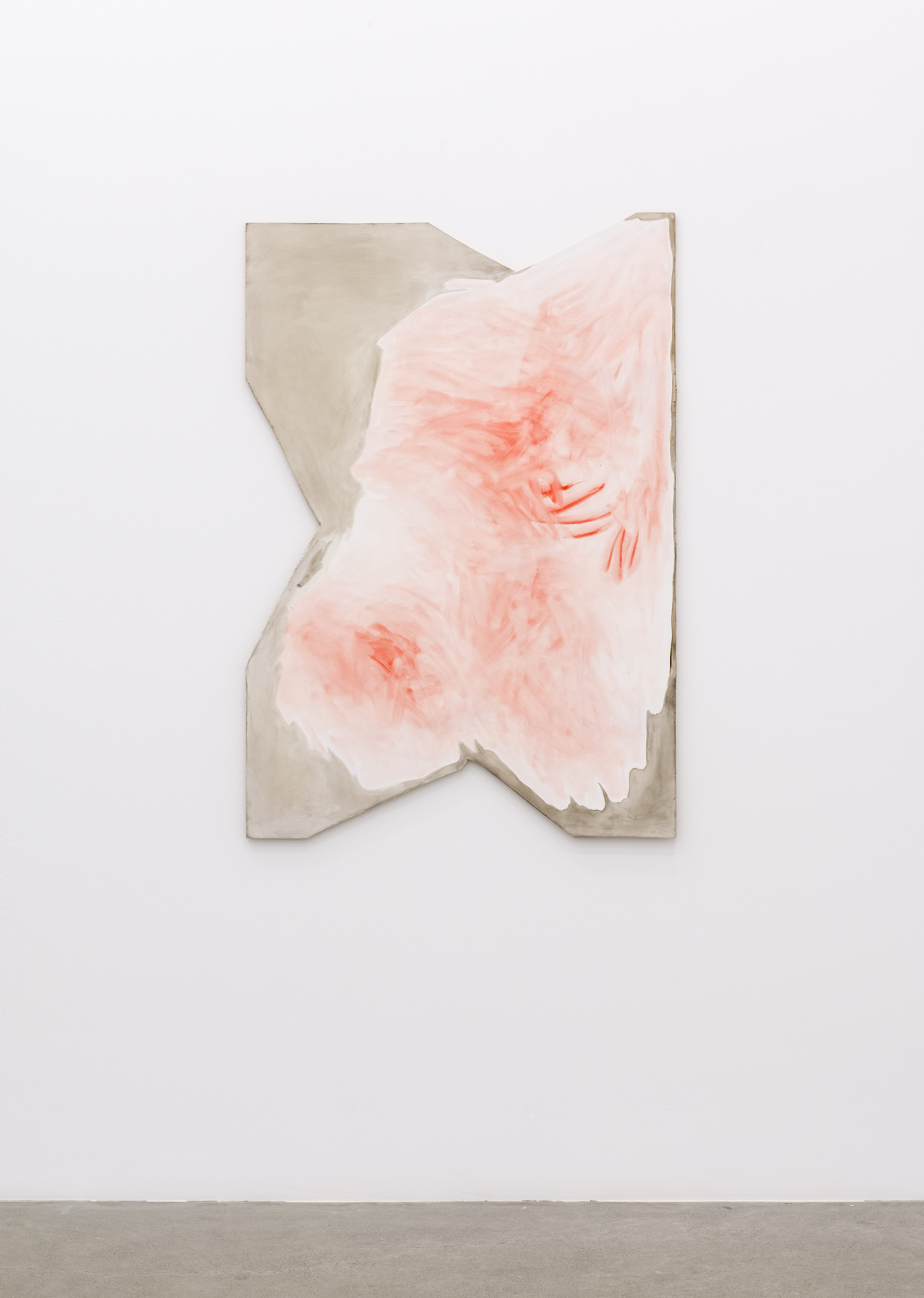 Monique Mouton, Rose, 2014, oil on wood panel, 48 x 33 in. (121 x 83 cm)  by