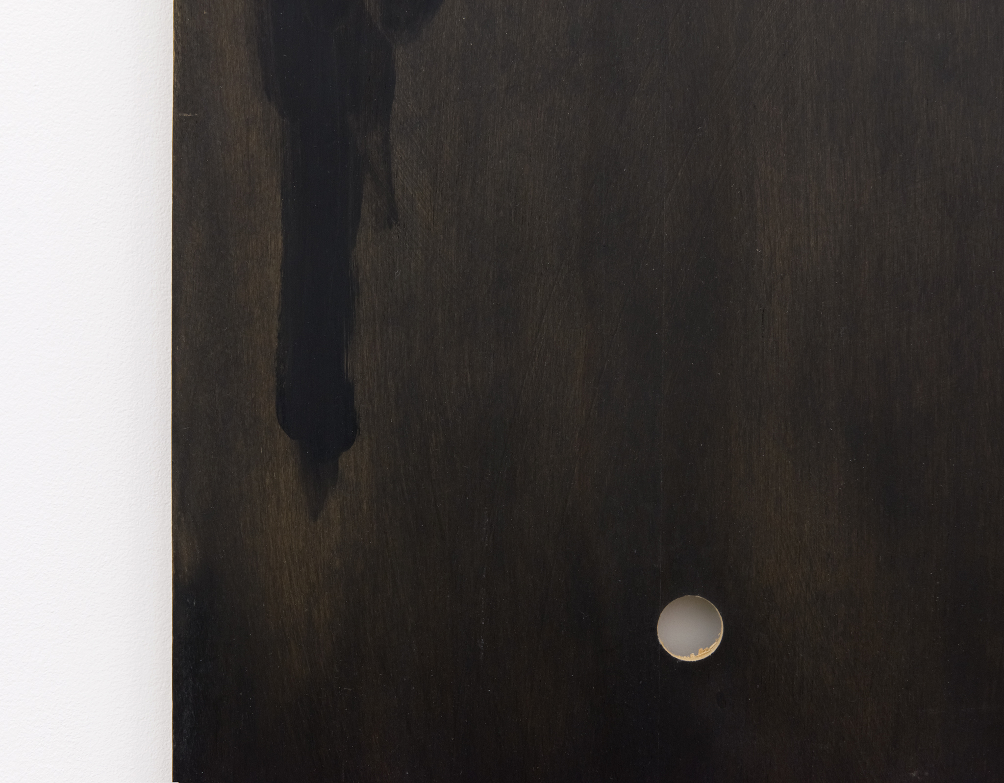 Monique Mouton, Untitled (detail), 2013, oil on wood panel, 13 x 96 x 1/4 in. (33 x 244 x 1 cm)  ​ by