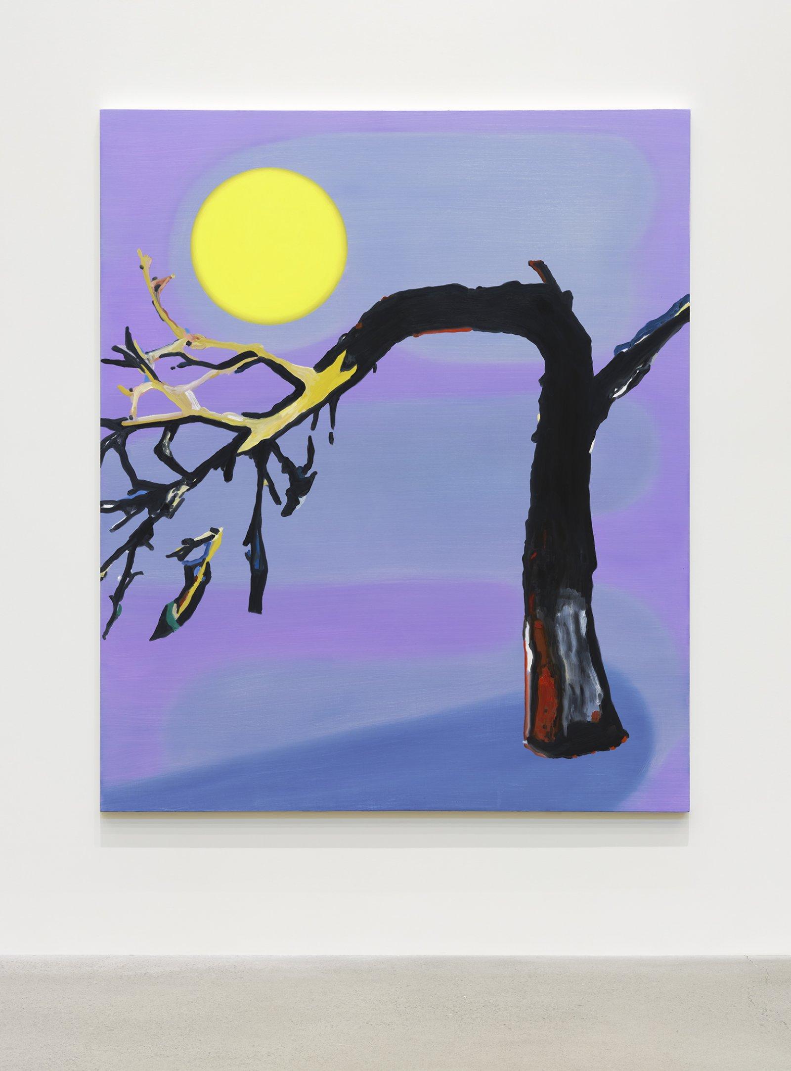 Elizabeth McIntosh, Bent Tree, 2020, oil on canvas, 69 x 58 in. (175 x 147 cm) by Elizabeth McIntosh