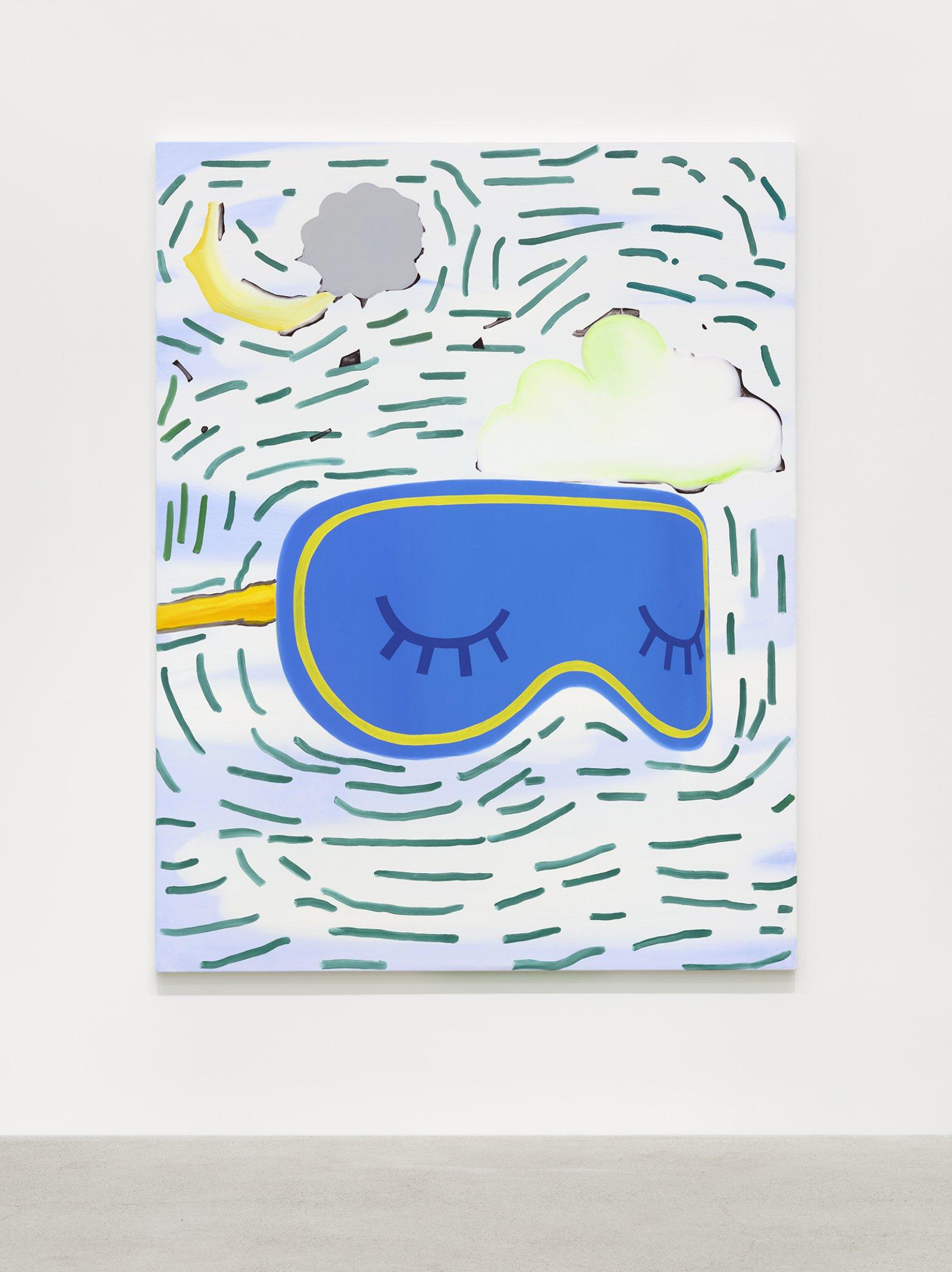 Elizabeth McIntosh, Blue Light, 2020, oil on canvas, 66 x 51 in. (168 x 130 cm) by Elizabeth McIntosh