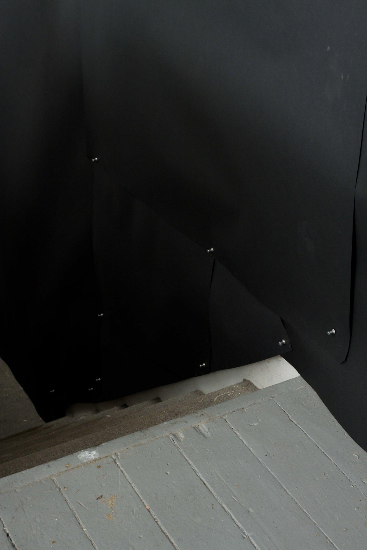 Elizabeth McIntosh, installation view, Cut Out, Goodwater Gallery, Toronto, 2009 by Elizabeth McIntosh
