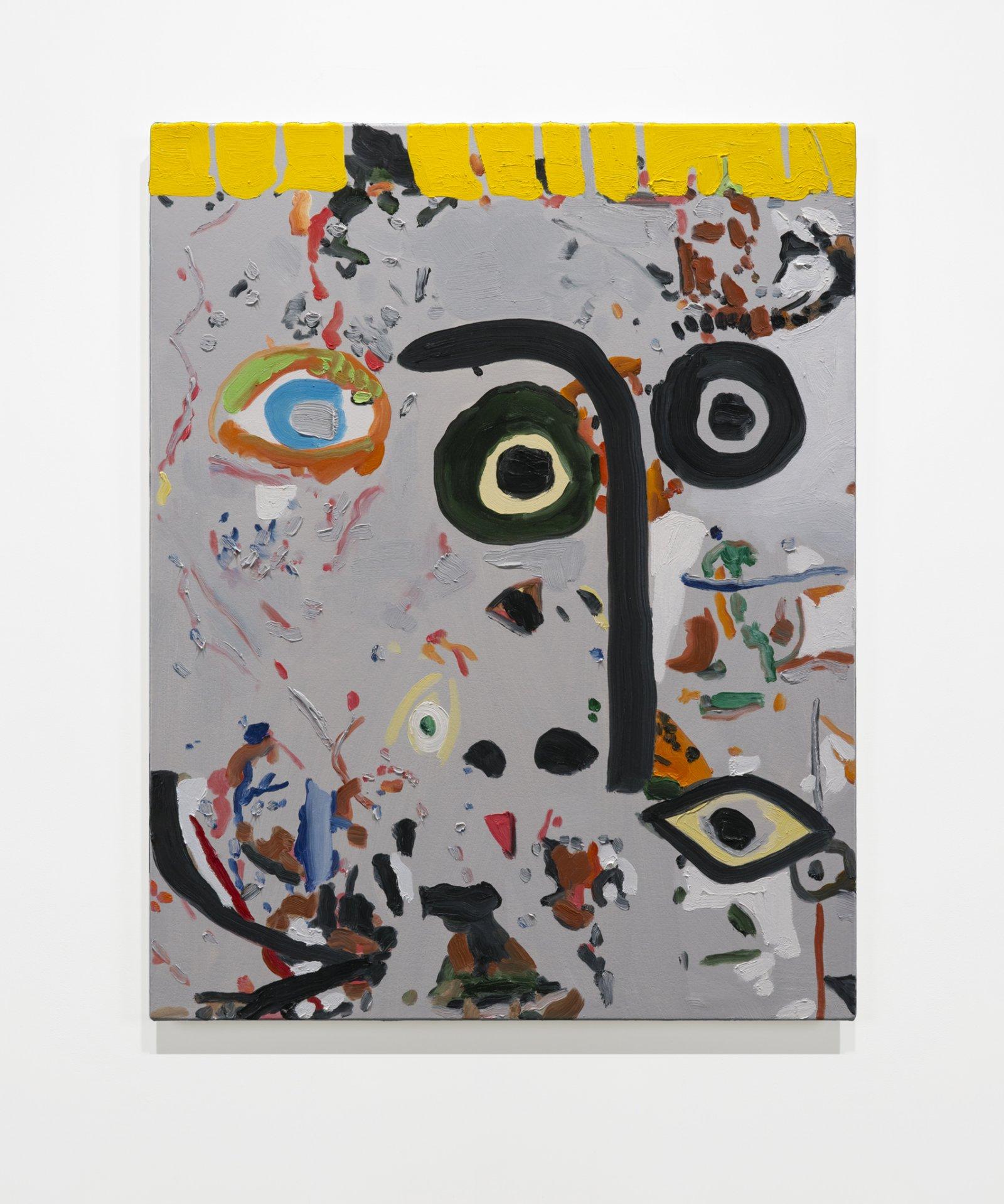 Elizabeth McIntosh, Eyes, 2019, oil on canvas, 28 x 22 in. (71 x 56 cm) by Elizabeth McIntosh