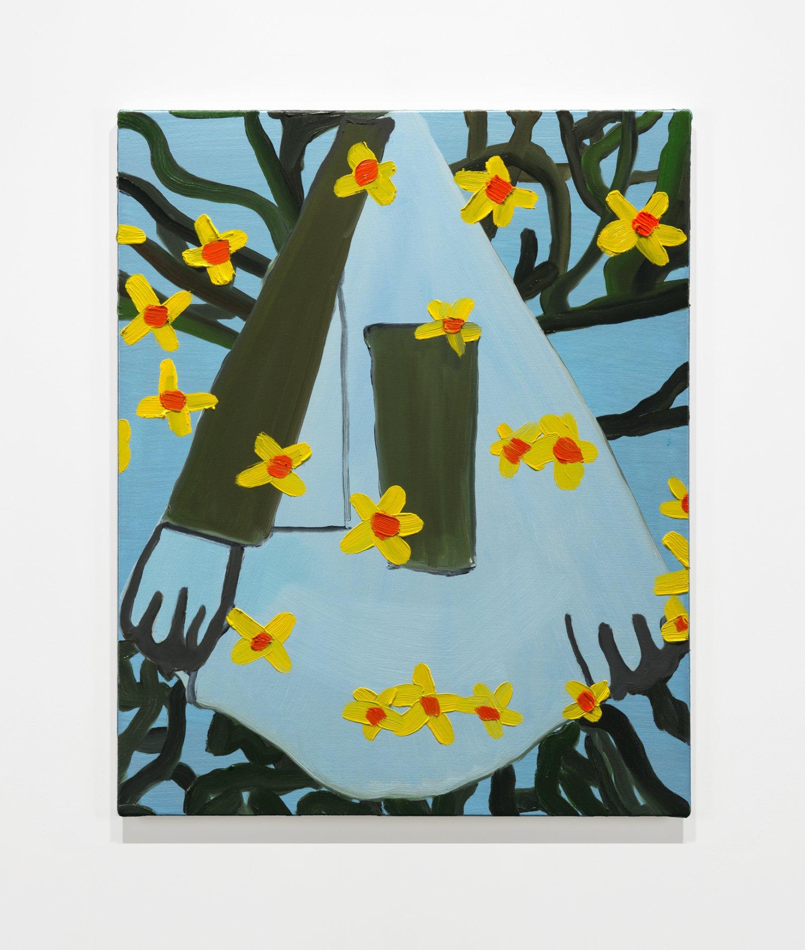 Elizabeth McIntosh, Flower House, 2019, oil on canvas, 24 x 19 in. (61 x 49 cm) by Elizabeth McIntosh