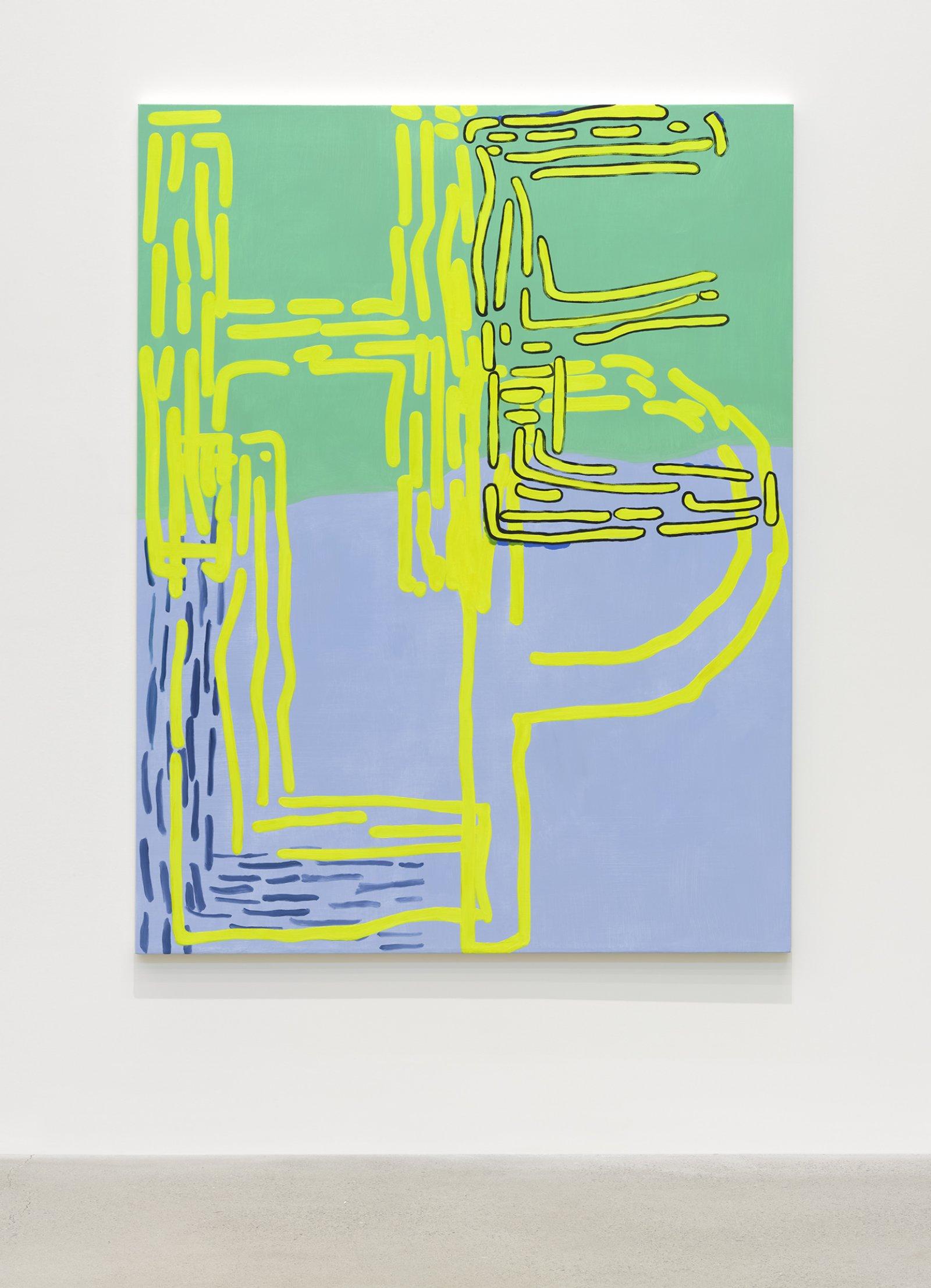 Elizabeth McIntosh, Help, 2020, oil on canvas, 66 x 57 in. (168 x 145 cm) by Elizabeth McIntosh