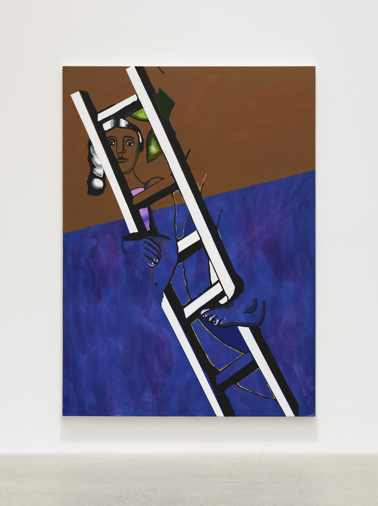 Elizabeth McIntosh, High, 2020, oil on canvas, 81 x 59 in. (206 x 149 cm) by Elizabeth McIntosh