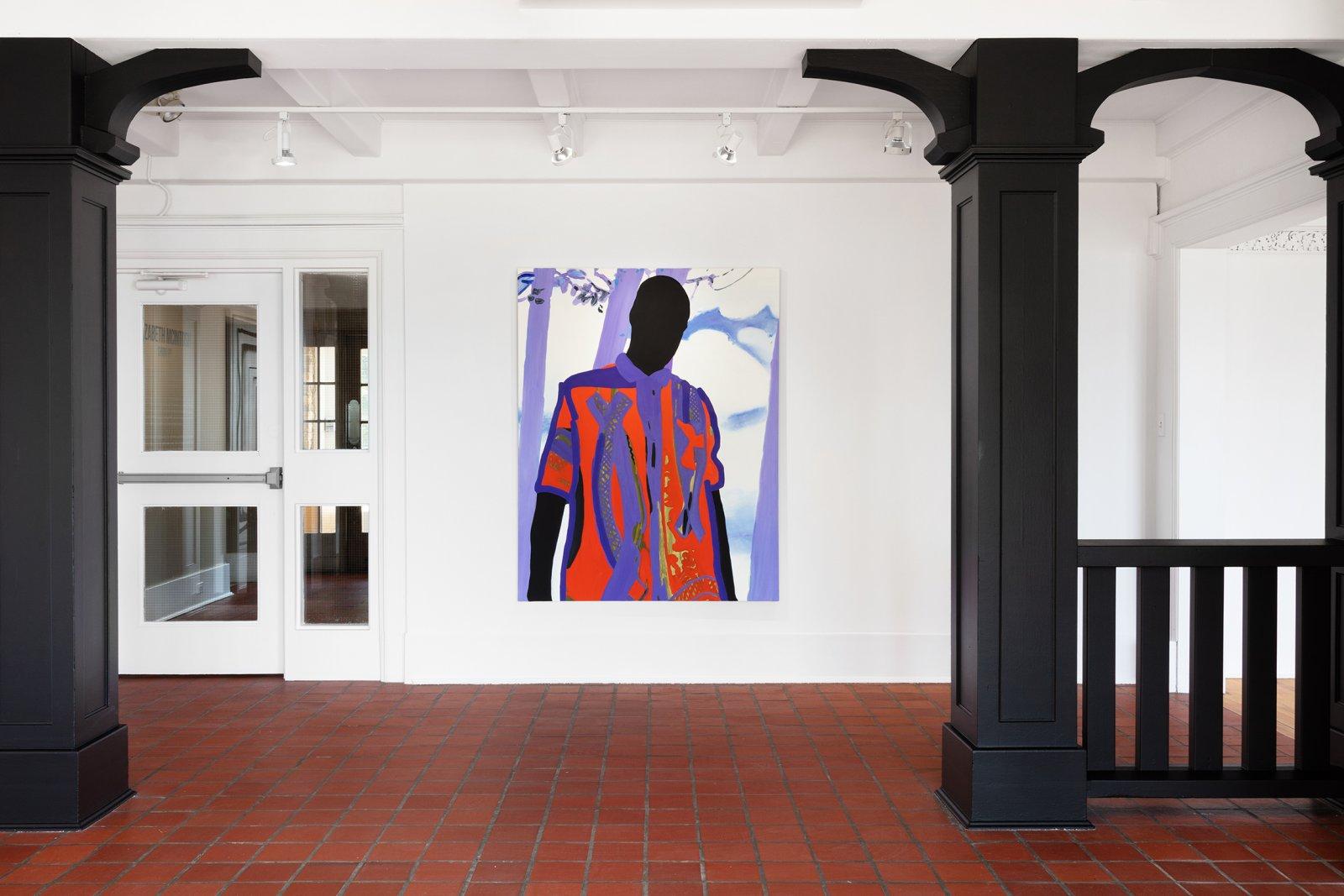Elizabeth McIntosh, Listen, 2018, oil on canvas, 66 x 51 in. (168 x 130 cm) by Elizabeth McIntosh
