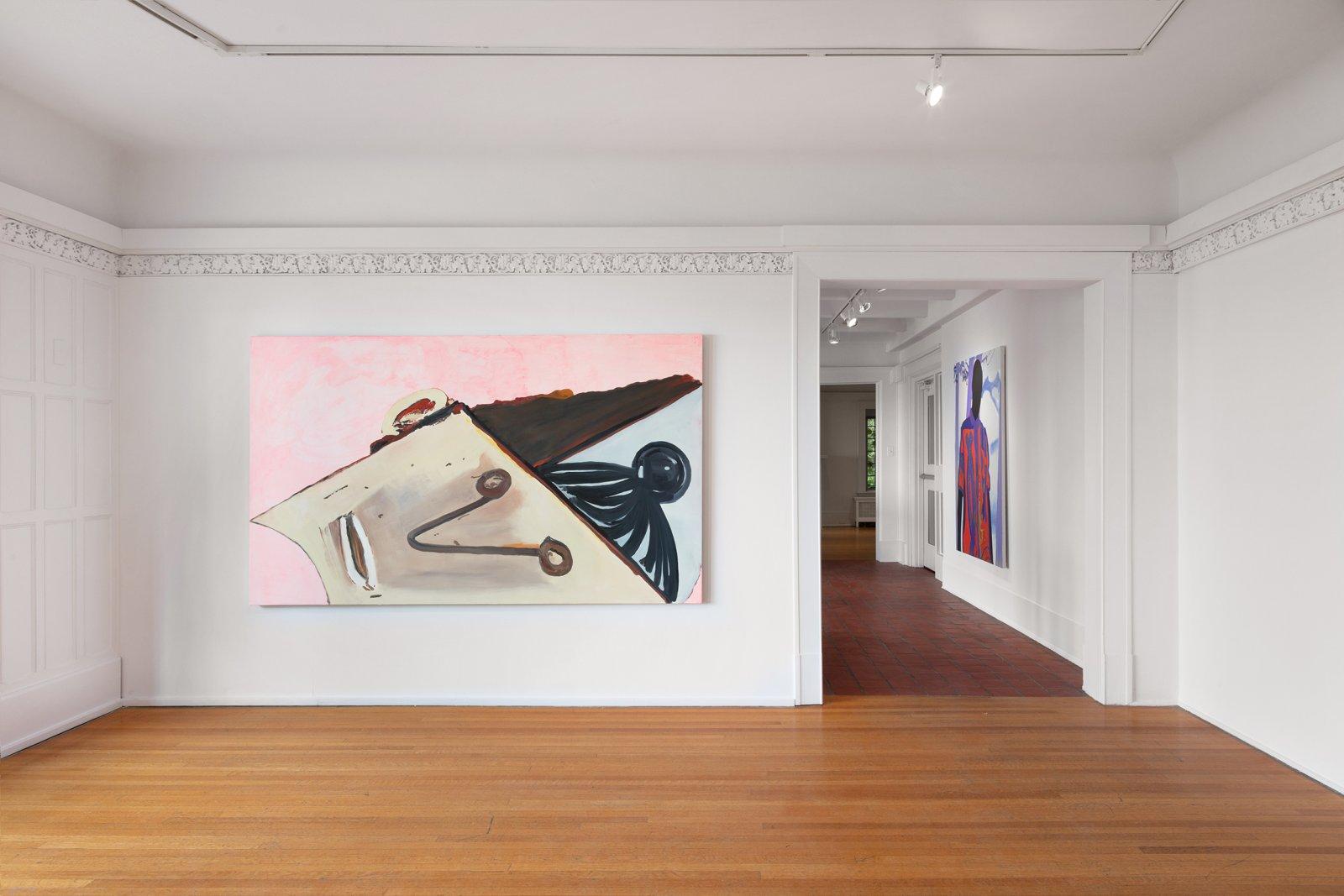 Elizabeth McIntosh, Parts, 2018, oil on canvas, 53 x 90 in. (135 x 227 cm) by Elizabeth McIntosh