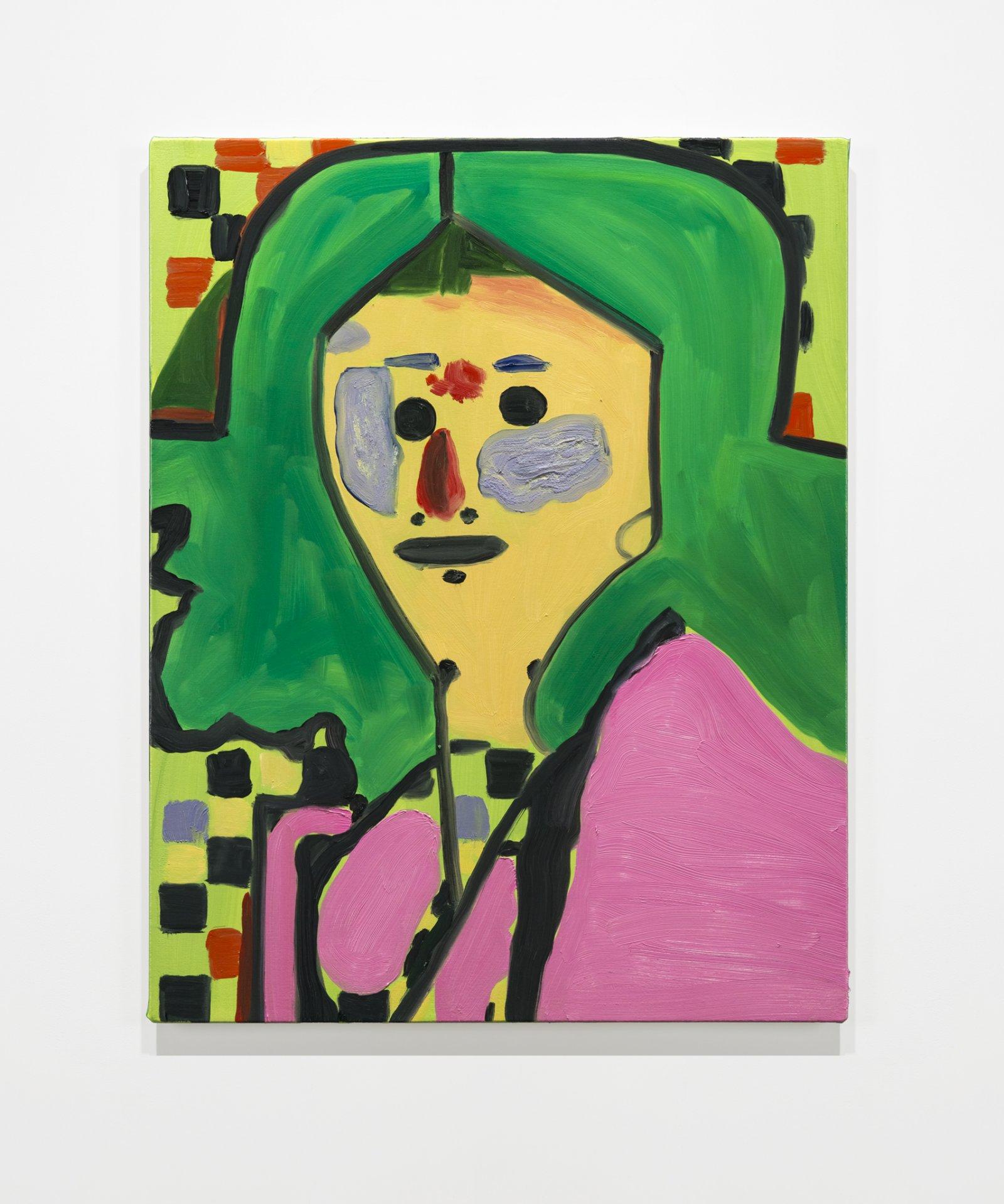 Elizabeth McIntosh, Raggedy Anne, 2019, oil on canvas, 28 x 22 in. (71 x 56 cm) by Elizabeth McIntosh