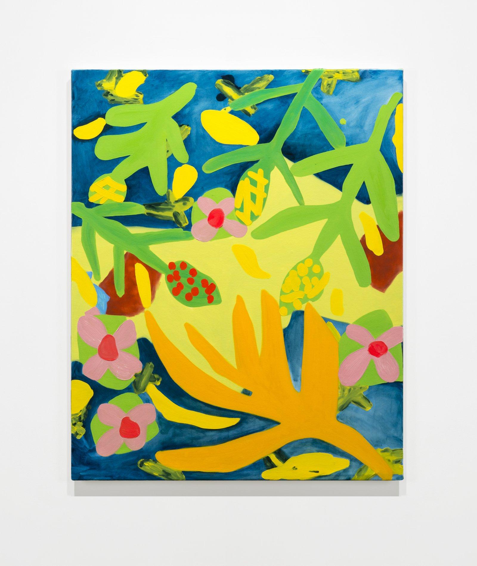 Elizabeth McIntosh, Sea Plants, 2019, oil on canvas, 39 x 31 in. (99 x 80 cm) by Elizabeth McIntosh