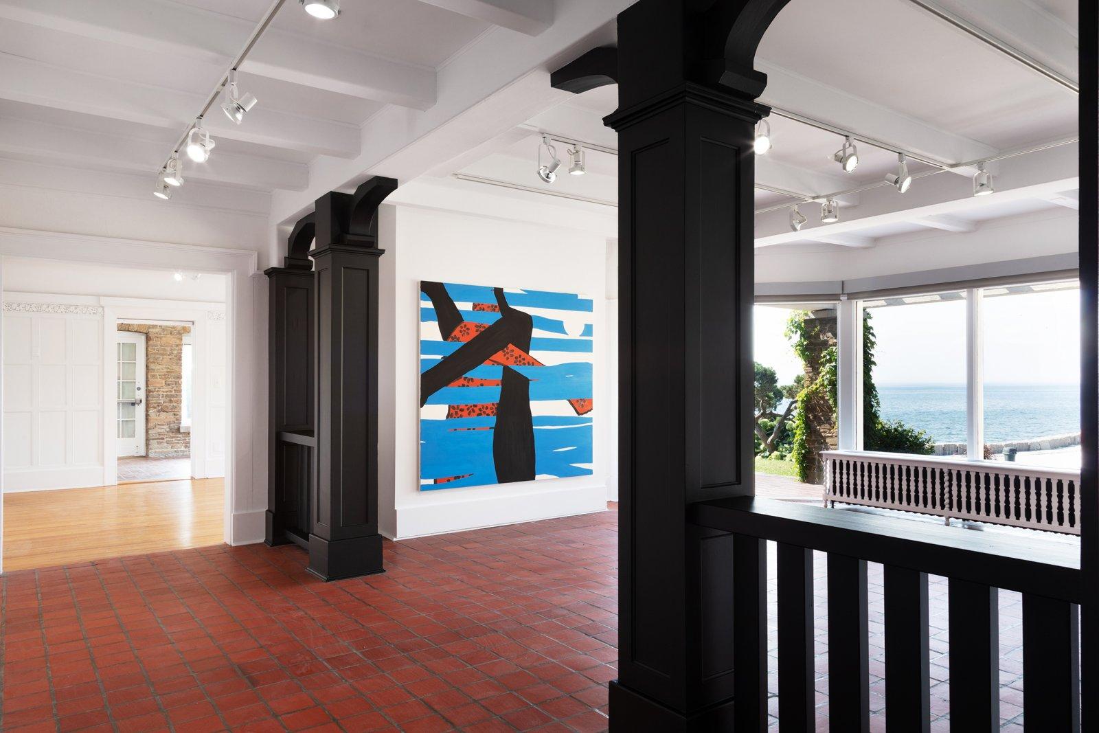Elizabeth McIntosh, installation view, Show Up, Oakville Galleries, Gairloch Gardens, Oakville, Canada, 2020 by Elizabeth McIntosh