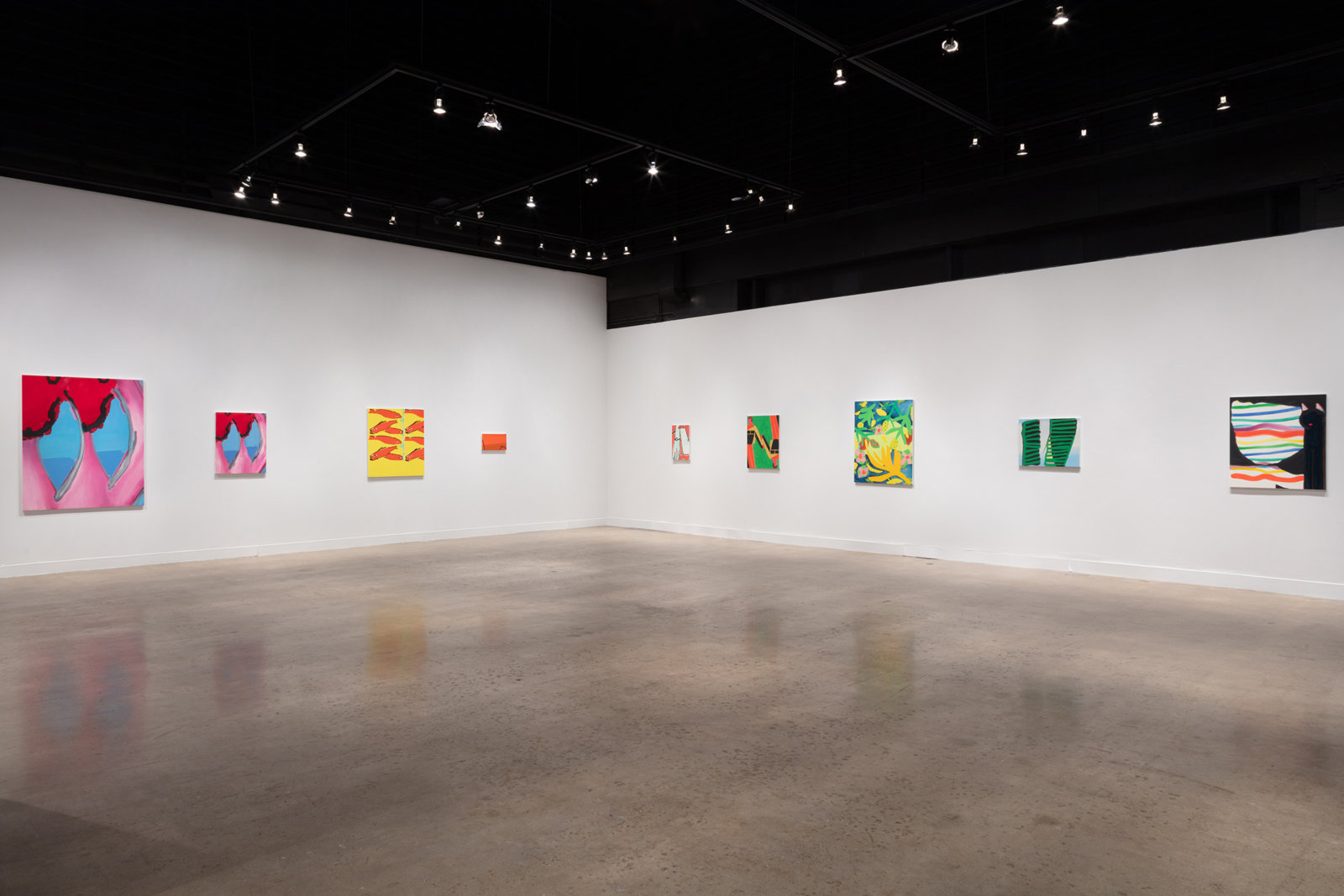 Elizabeth McIntosh, installation view, Show Up, Oakville Galleries, Centennial Square, Oakville, Canada, 2020 by Elizabeth McIntosh