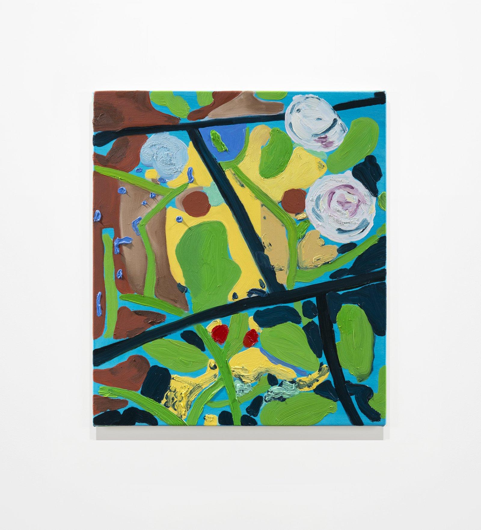 Elizabeth McIntosh, Spy, 2020, oil on canvas, 17 x 15 in. (44 x 38 cm) by Elizabeth McIntosh