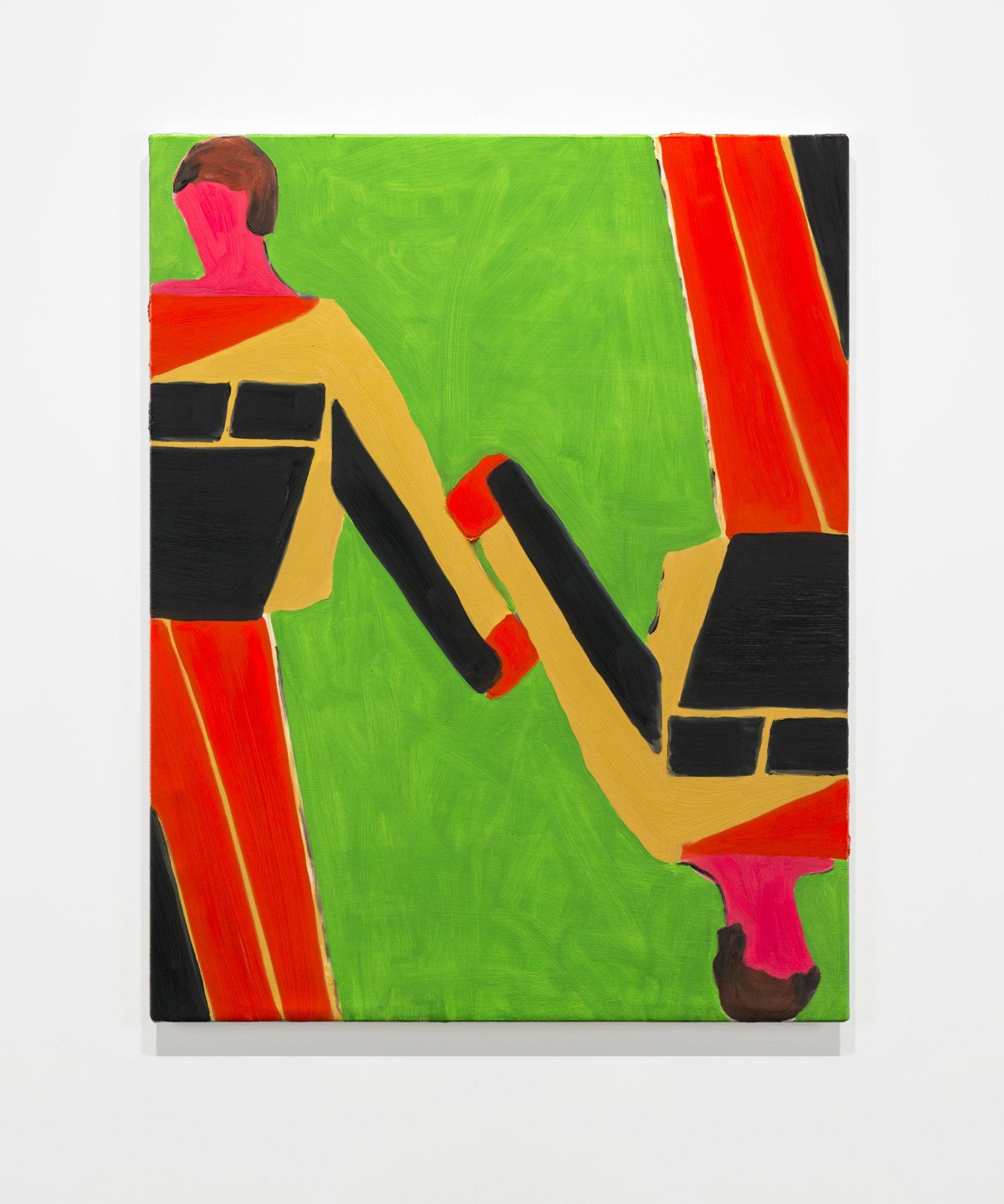 Elizabeth McIntosh, Touch and Frame, 2019, oil on canvas, 28 x 22 in. (71 x 56 cm) by Elizabeth McIntosh