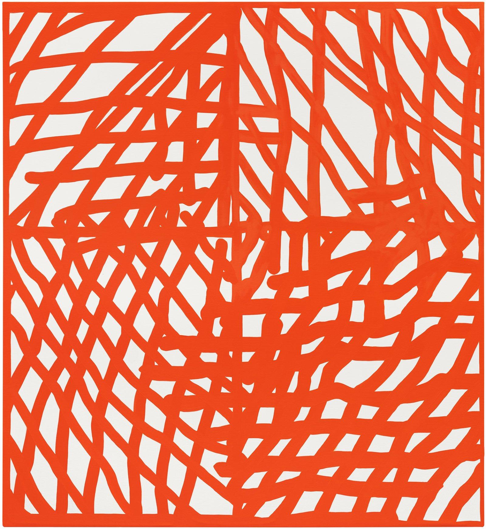 Elizabeth McIntosh, Unraveller, 2020, oil on canvas, 73 x 67 in. (185 x 170 cm) by Elizabeth McIntosh