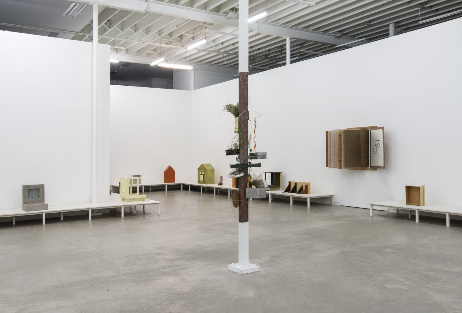 Gareth Moore, installation view, Household Temple Yard, Catriona Jeffries, 2013  by Ashes Withyman