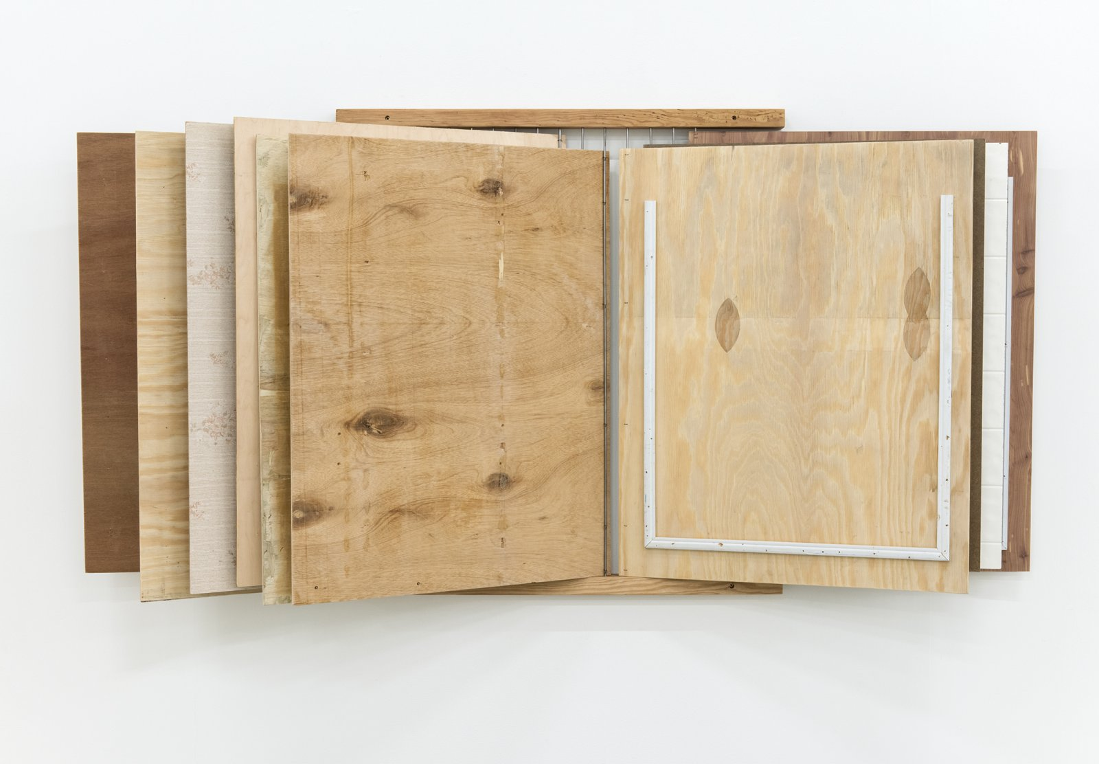 ​Gareth Moore, PH 1, They did not live there..., 2013, wood, 34 x 27 in. (85 x 69 cm) by Ashes Withyman