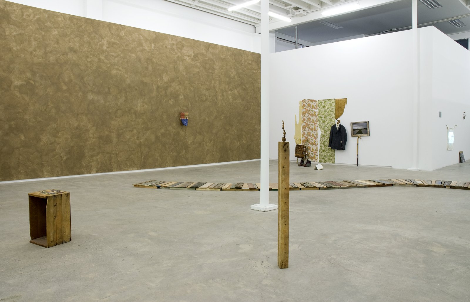 Gareth Moore, installation view, Uncertain Pilgrimage, Catriona Jeffries, 2009  by Ashes Withyman