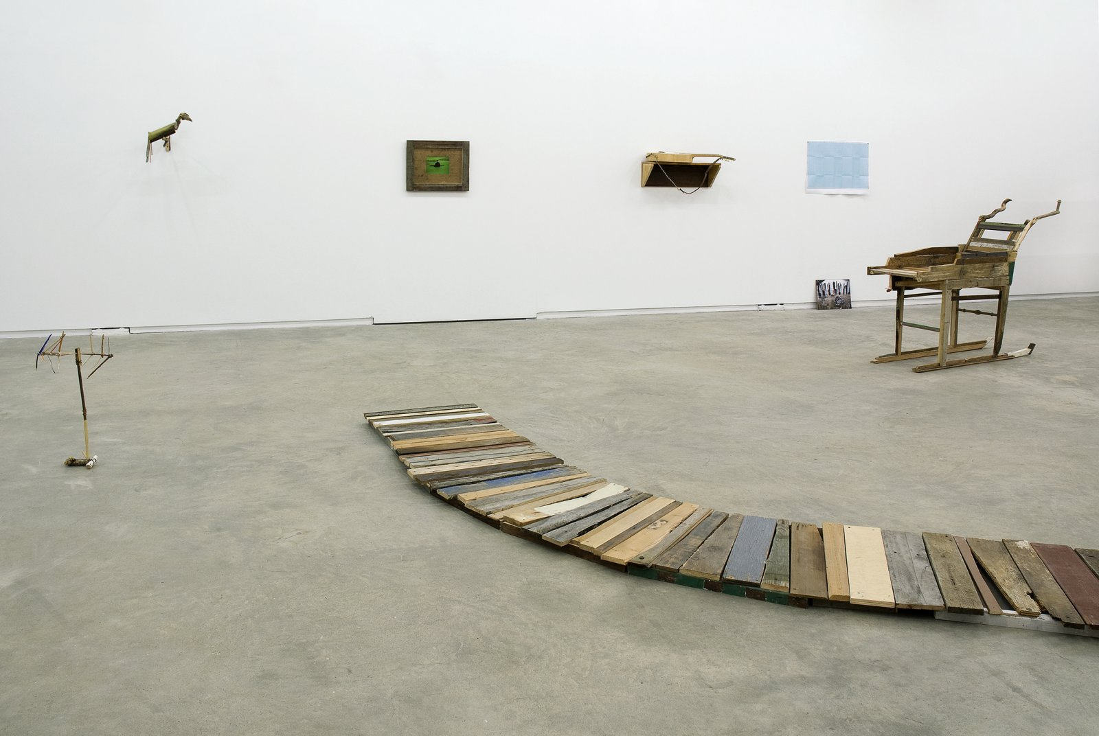Gareth Moore, installation view, Uncertain Pilgrimage, Catriona Jeffries, 2009 ​​ by Ashes Withyman