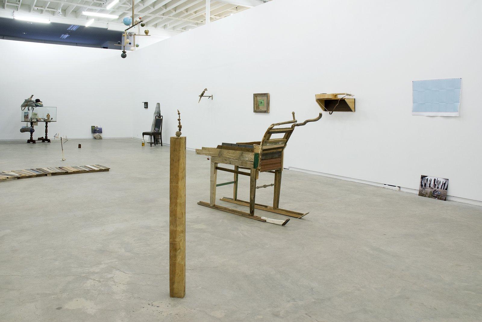 Gareth Moore, installation view, Uncertain Pilgrimage, Catriona Jeffries, 2009  by Gareth Moore