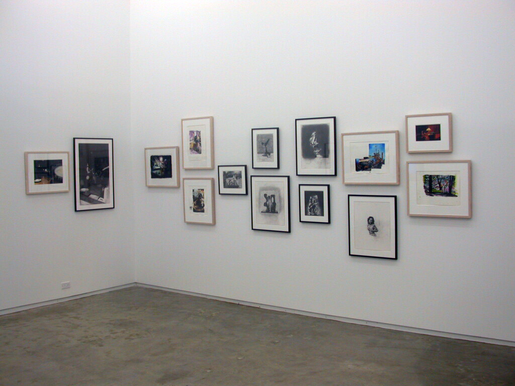 ​Damian Moppett, April 06 to May 06, 2006, graphite drawings and watercolours on paper, dimensions variable by