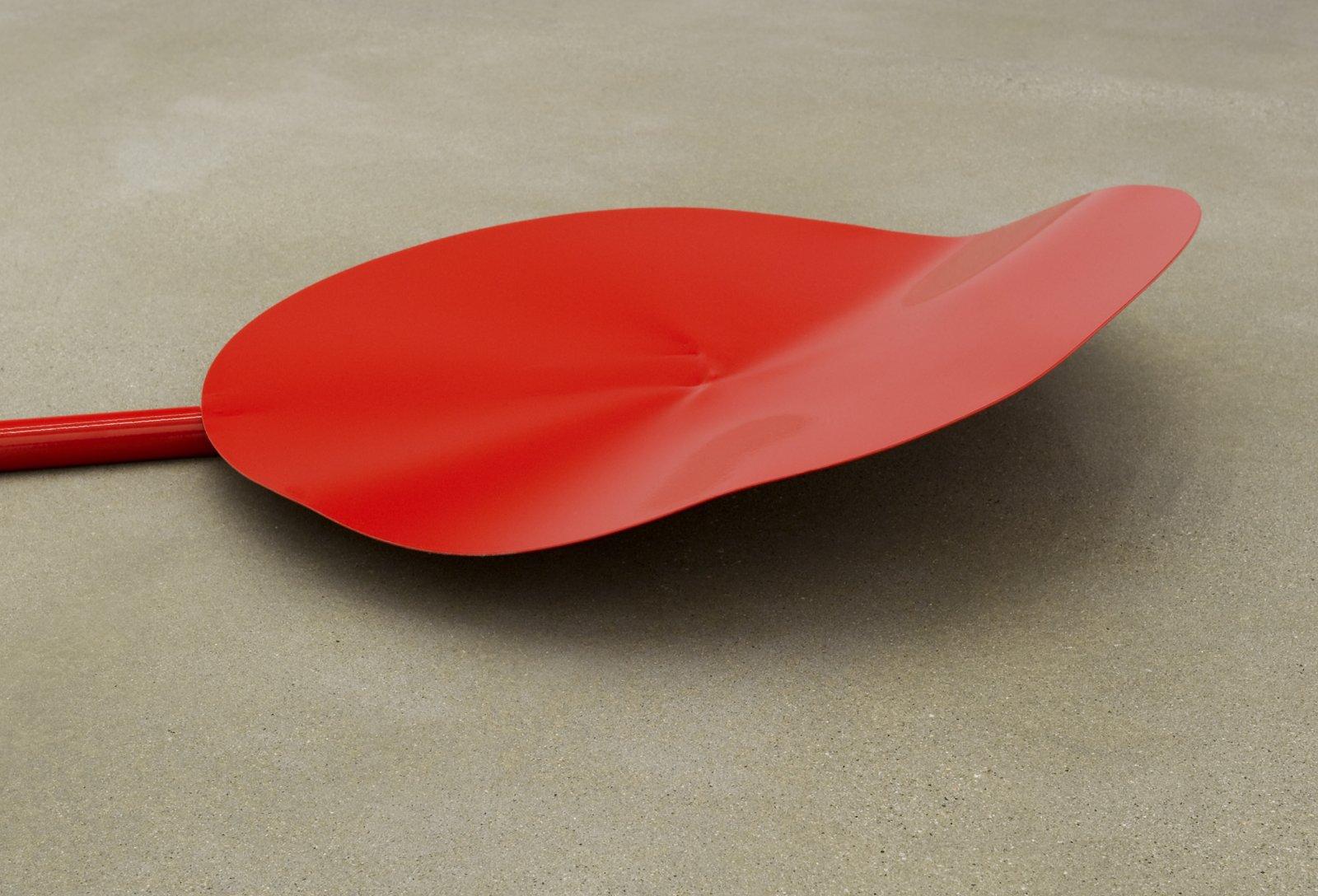Damian Moppett, Broken Fall (detail), 2011, aluminum and steel, 306 x 180 x 180 in. (780 x 460 x 460 cm) by Damian Moppett