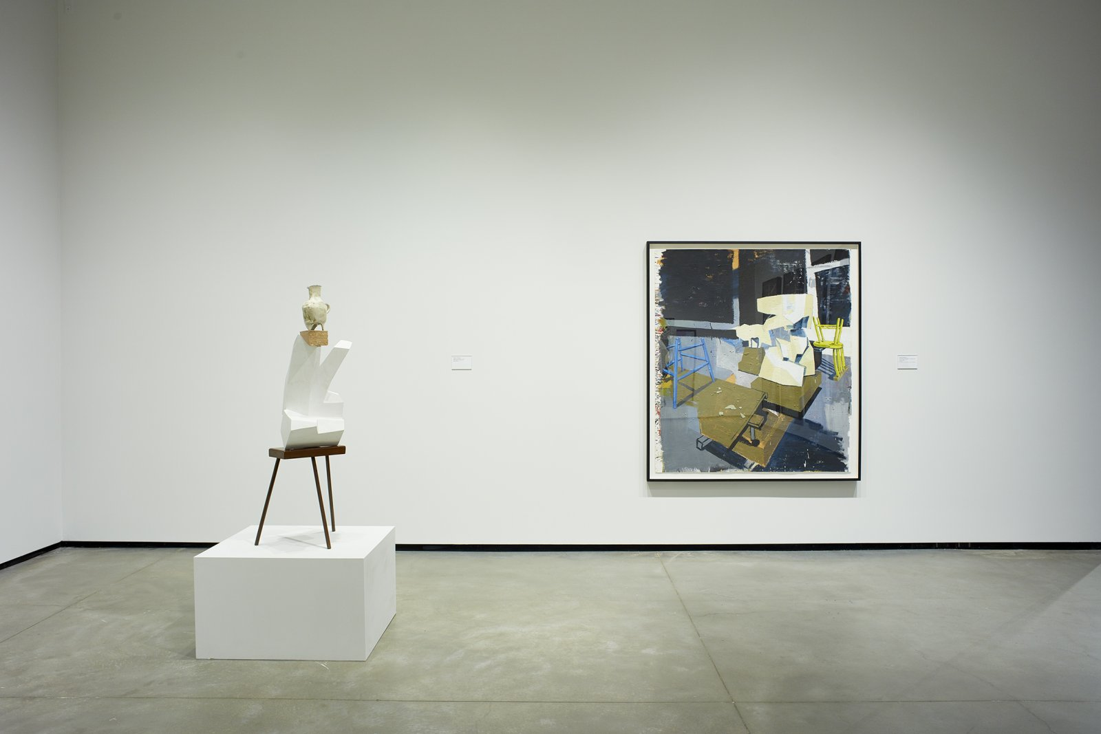 Ron Moppett, Damian Moppett, installation view, Every Story Has Two Sides, Art Gallery of Alberta, Edmonton, 2016 by Damian Moppett