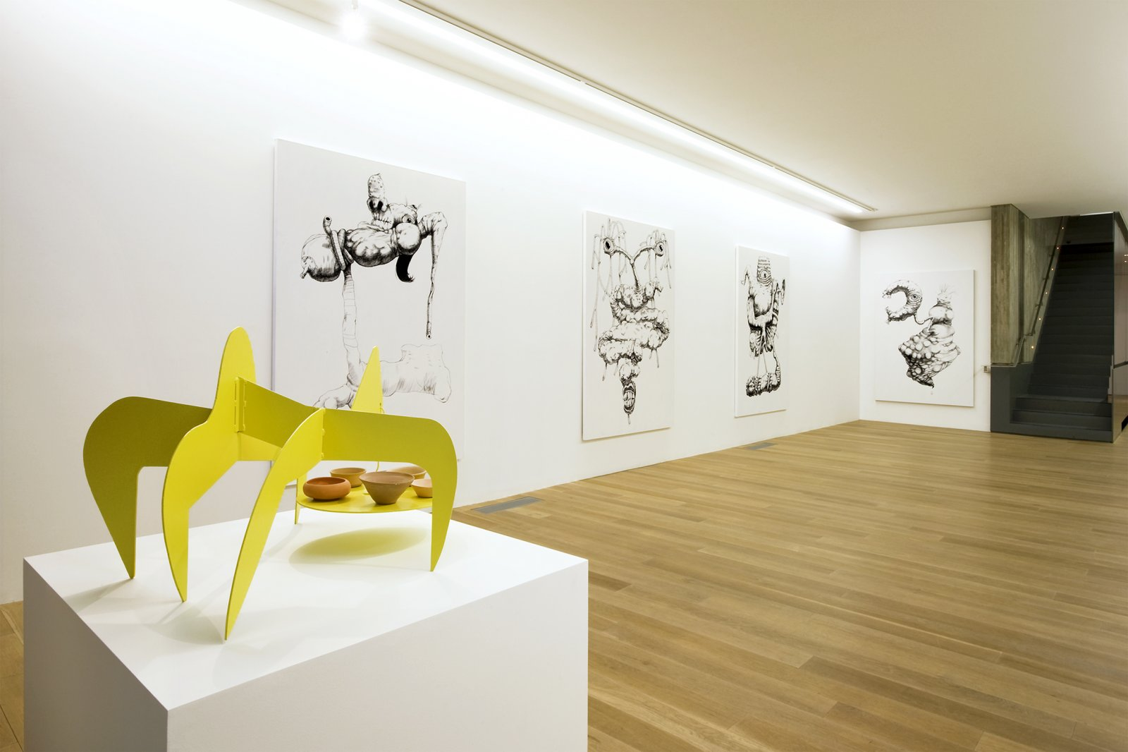 Damian Moppett, installation view, Rennie Museum, Vancouver, 2011 by Damian Moppett