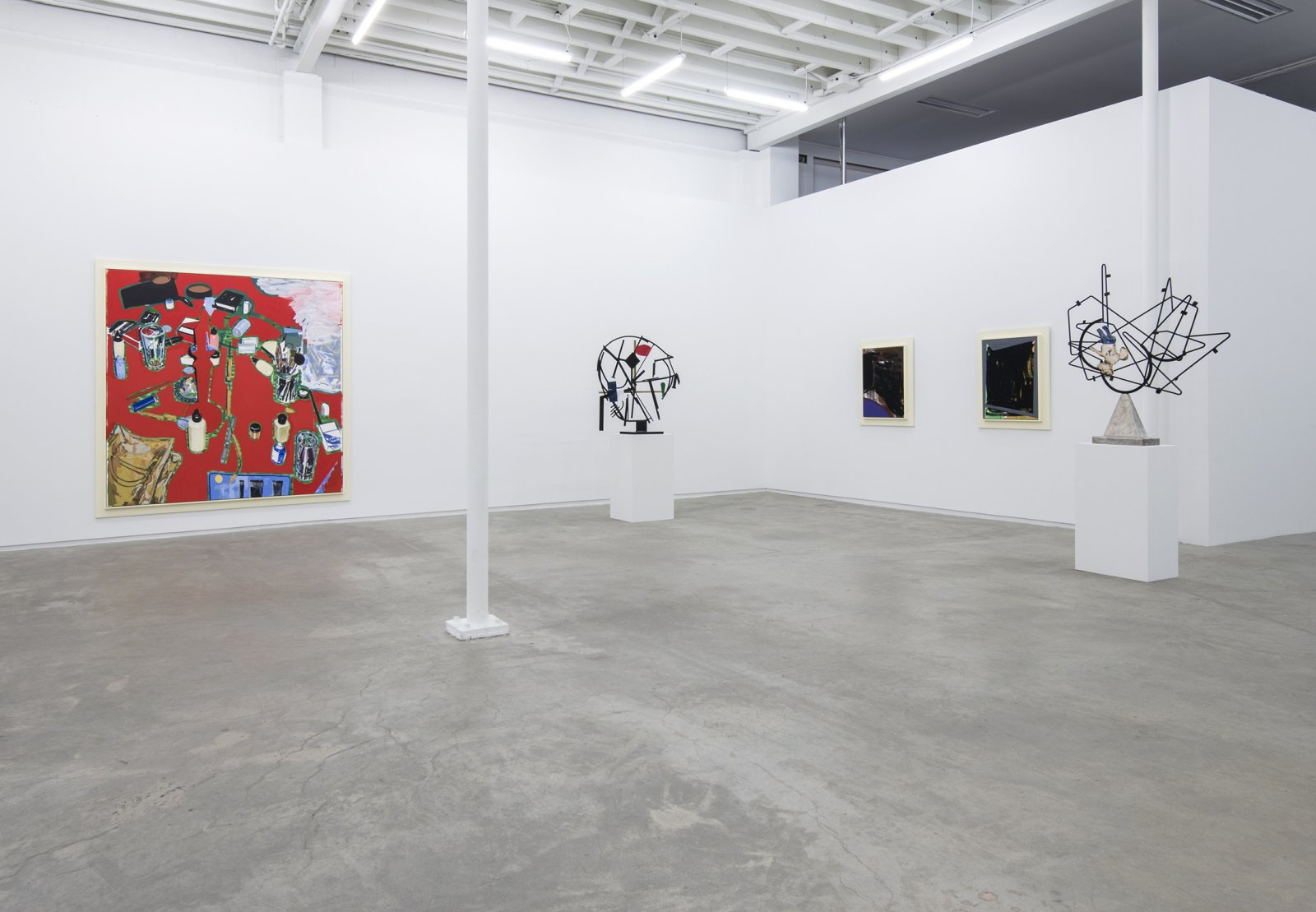 Damian Moppett, installation view, Salute, Catriona Jeffries, 2013 by Damian Moppett