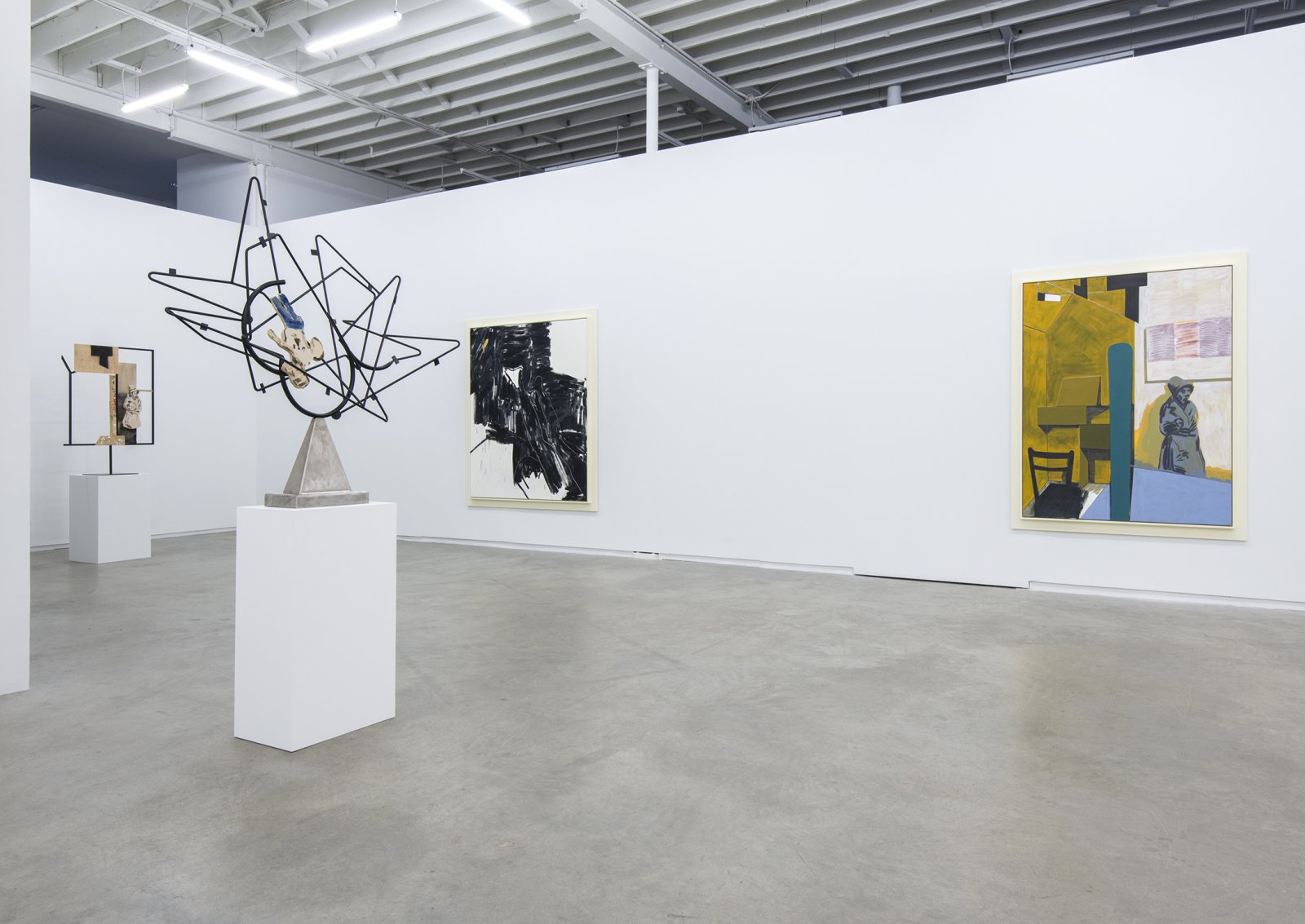 Damian Moppett, installation view, Salute, Catriona Jeffries, 2013​​ by Damian Moppett