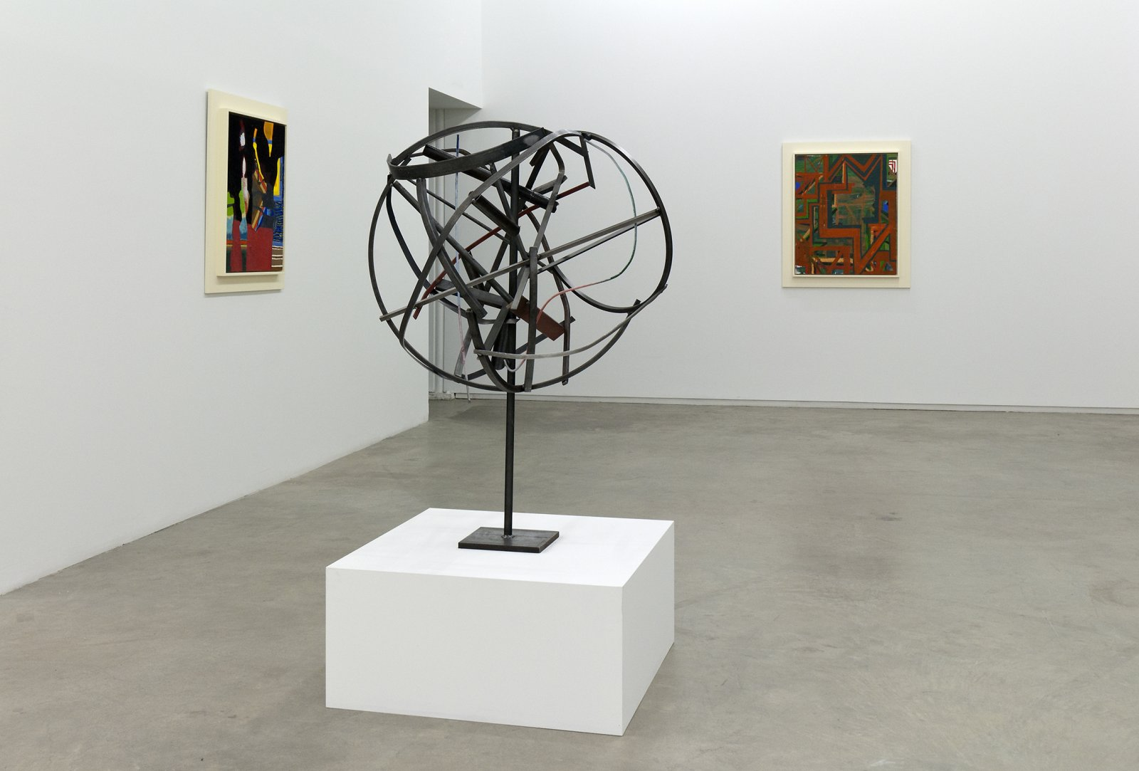 Damian Moppett, installation view, The Sculptor's Studio is a Painting, Catriona Jeffries, 2010 by Damian Moppett