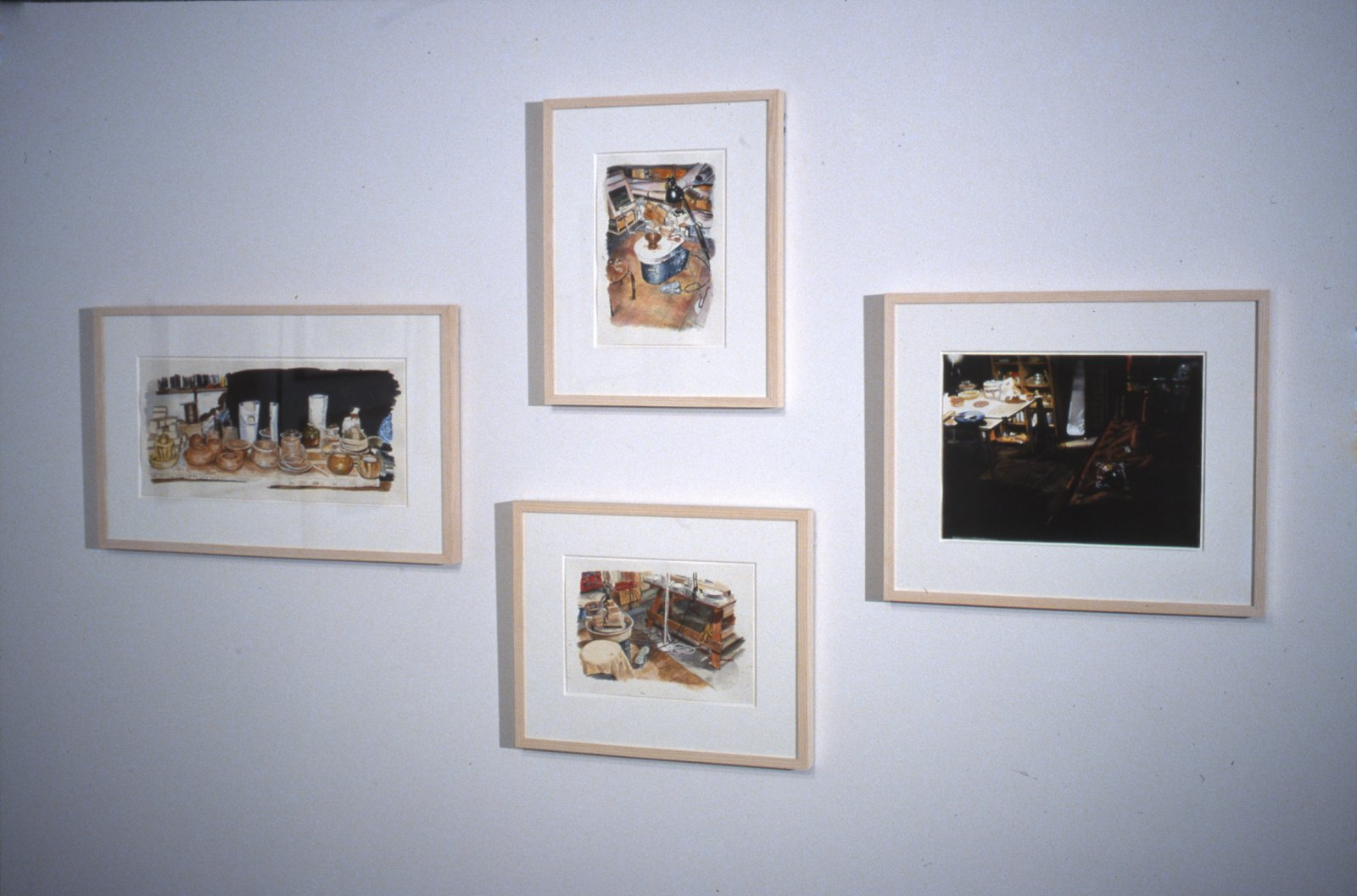 Damian Moppett, installation view, The Visible Work, Contemporary Art Gallery, Vancouver, 2005 by Damian Moppett