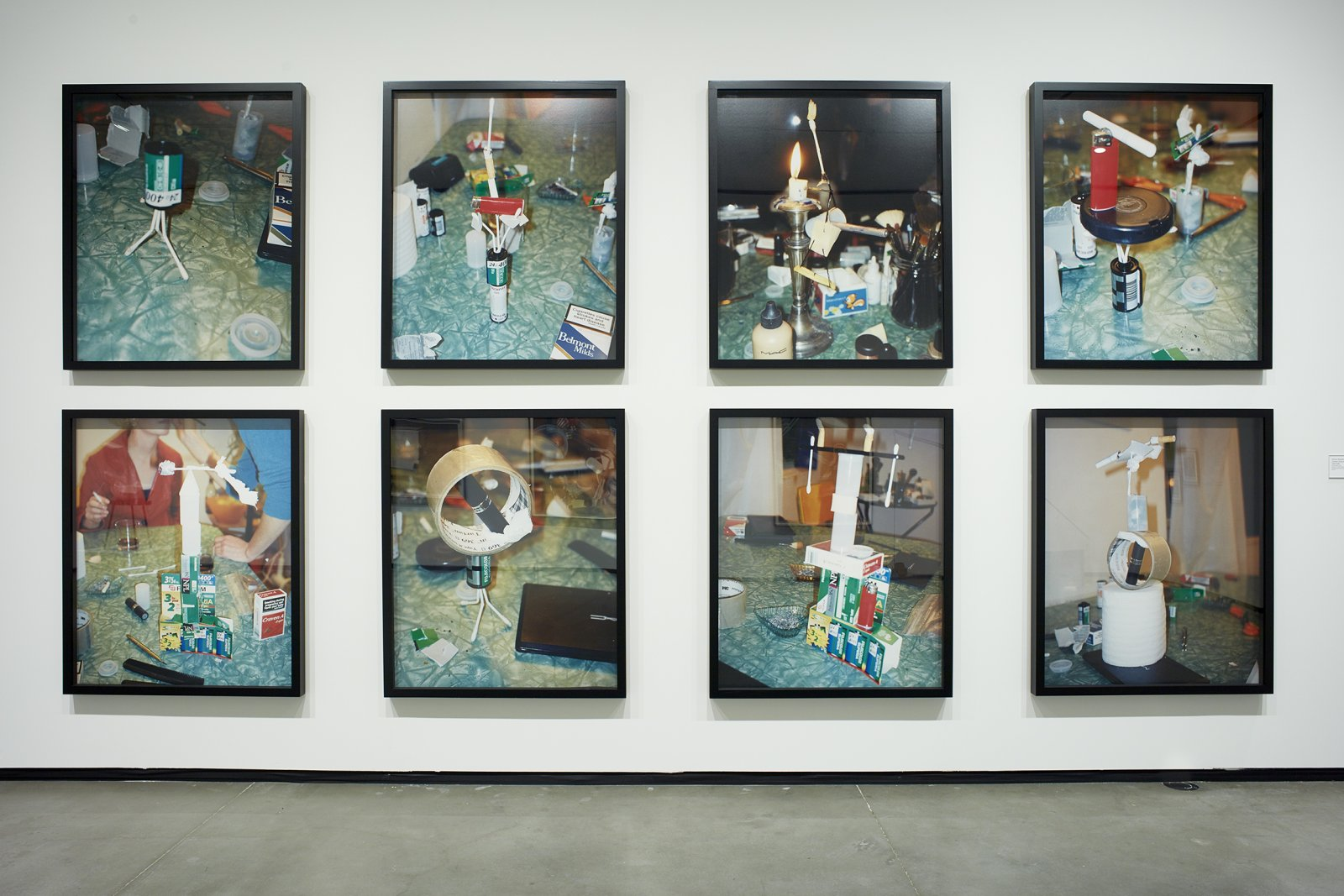 Damian Moppett, installation view, (Untitled) Impure Systems, 1999, c-print, each 48 x 40 in. (122 x 102 cm) by Damian Moppett