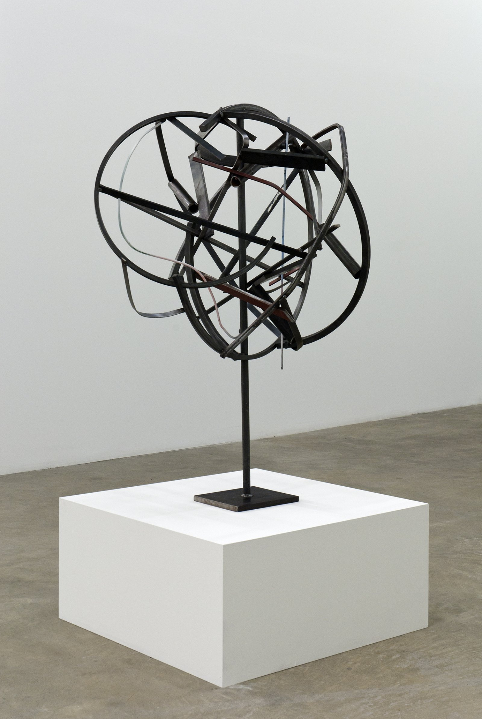 ​Damian Moppett, Untitled, 2010, steel, magnets, 47 x 31 x 30 in. (119 x 79 x 76 cm) by Damian Moppett