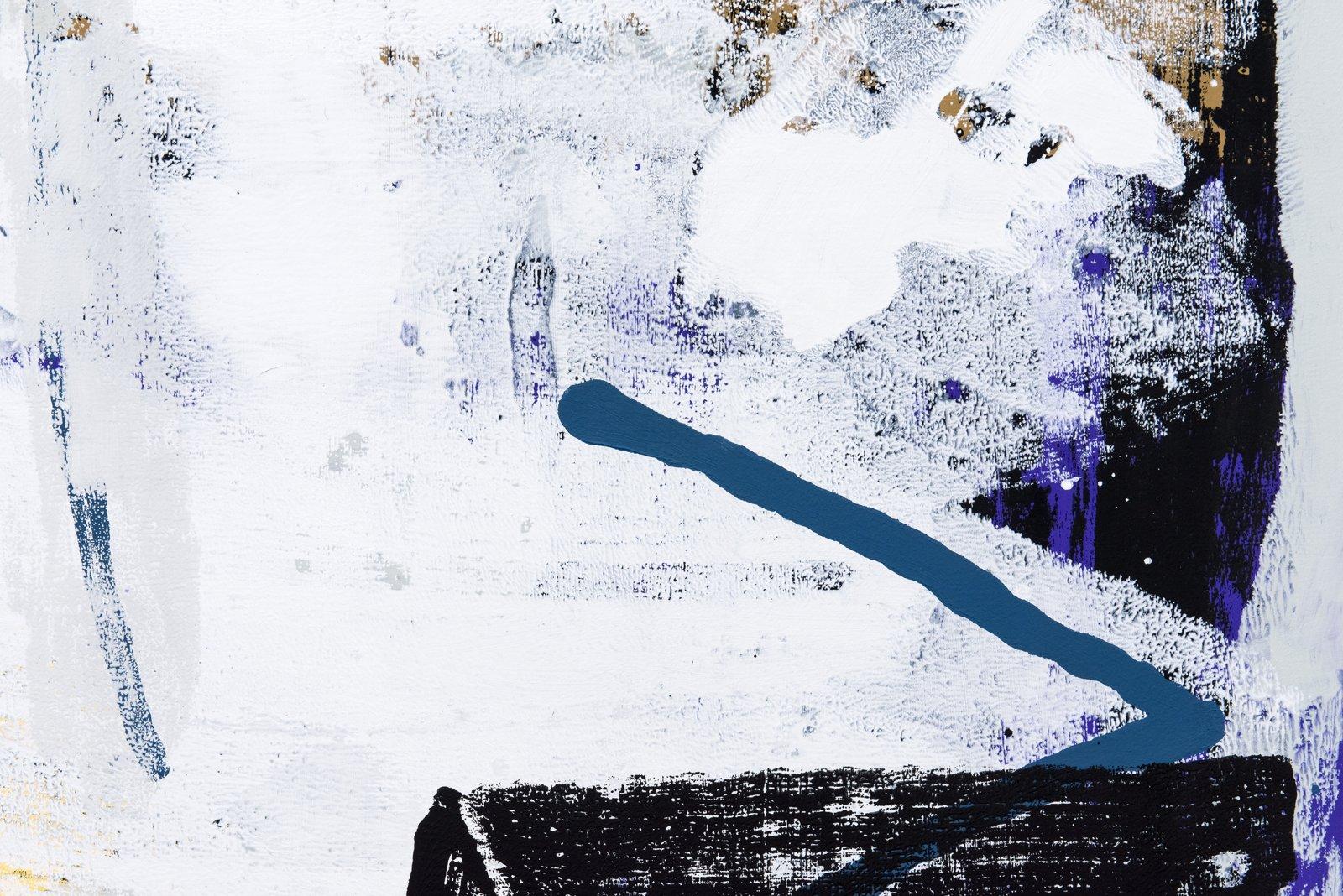 Damian Moppett, X (detail), 2016, oil on canvas, 84 x 74 in. (213 x 188 cm) by Damian Moppett