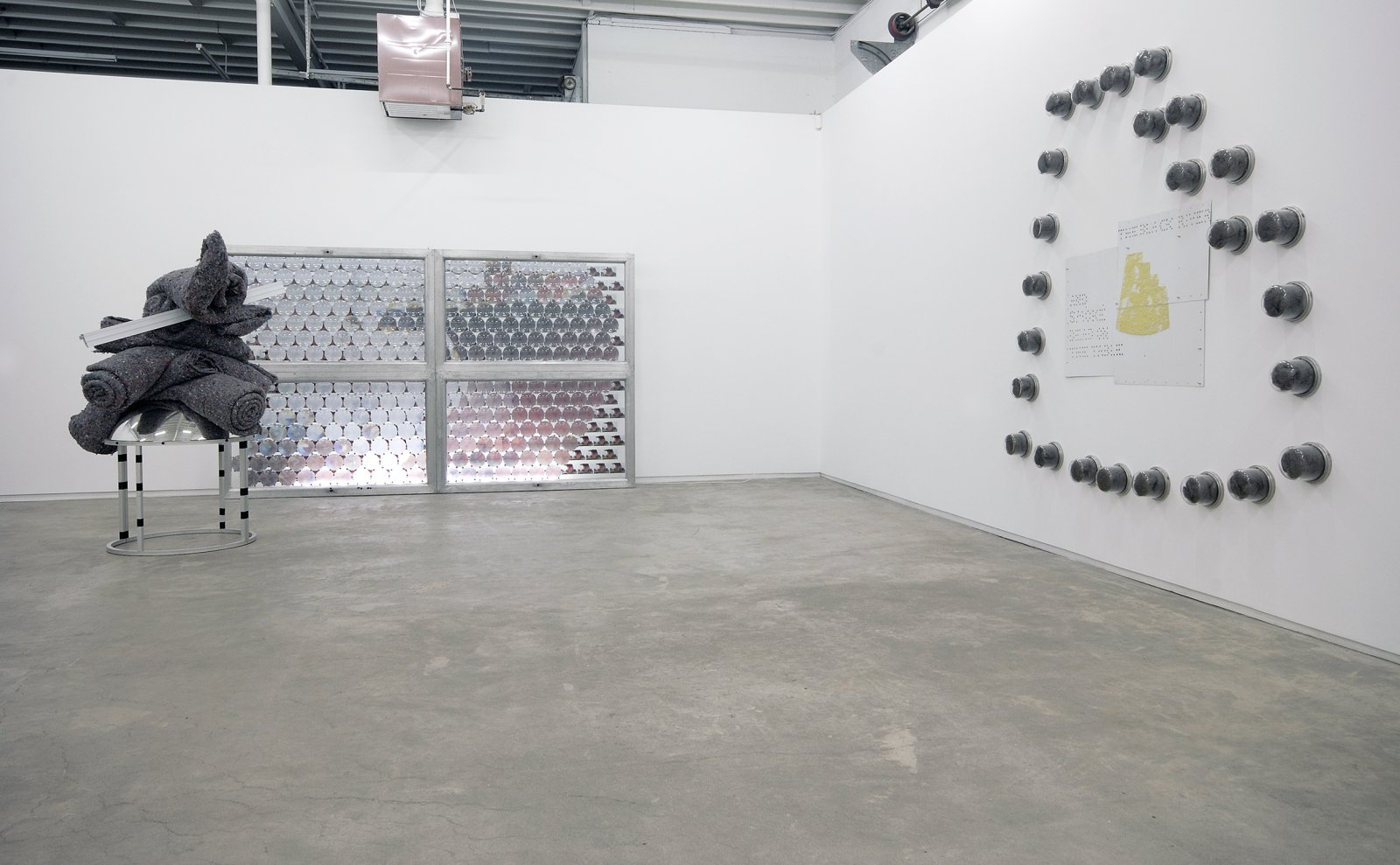 Jerry Pethick, installation view, Catriona Jeffries, 2008  by Jerry Pethick