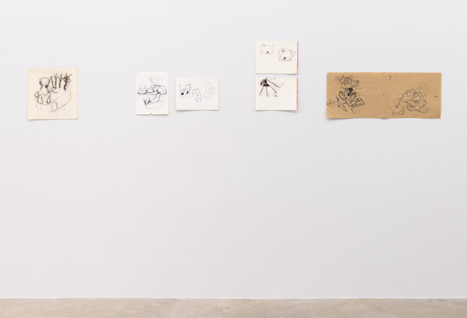 Jerry Pethick, installation view, Where sidewalks leap on the table, Catriona Jeffries, 2014  by Jerry Pethick