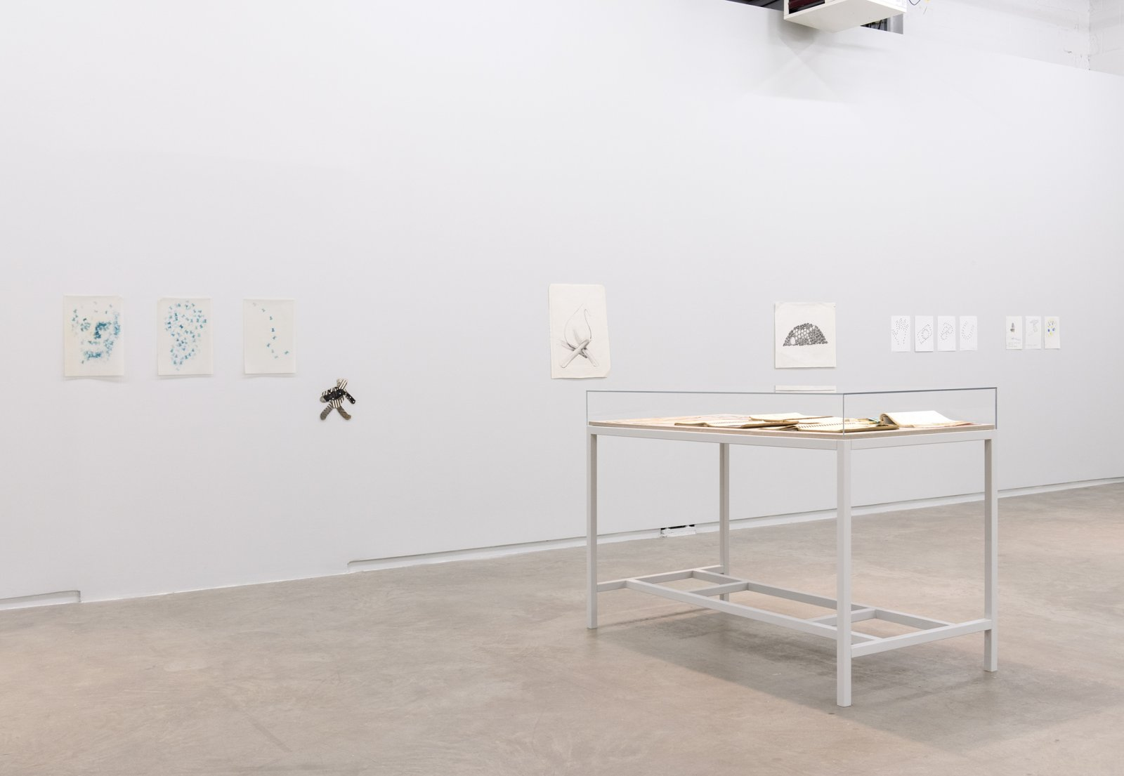 Jerry Pethick, installation view, Where Sidewalks Leap On The Table, Catriona Jeffries, 2014 ​​ by Jerry Pethick