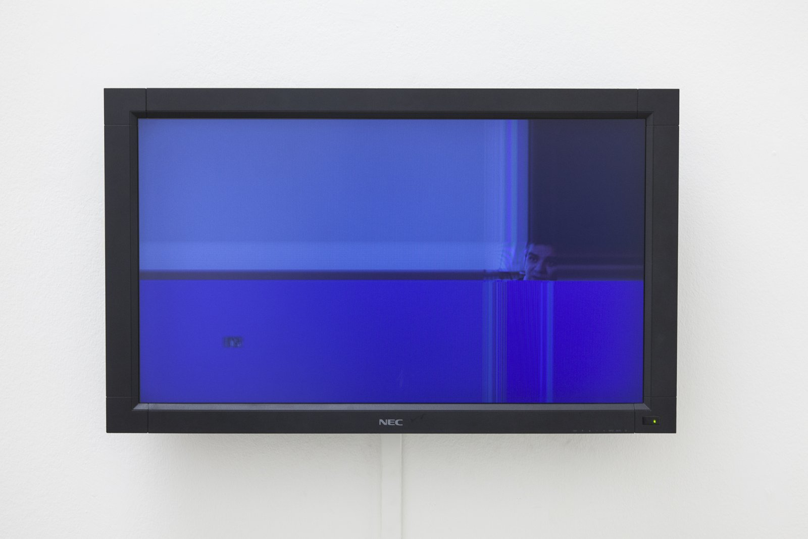 Judy Radul, A CONTAINER CONTAINING NOT ONE TV (detail), 2013, mixed media, dimensions variable. Installation view, ThisisTelevision,Daadgalerie,Berlin,Germany, 2013 by Judy Radul