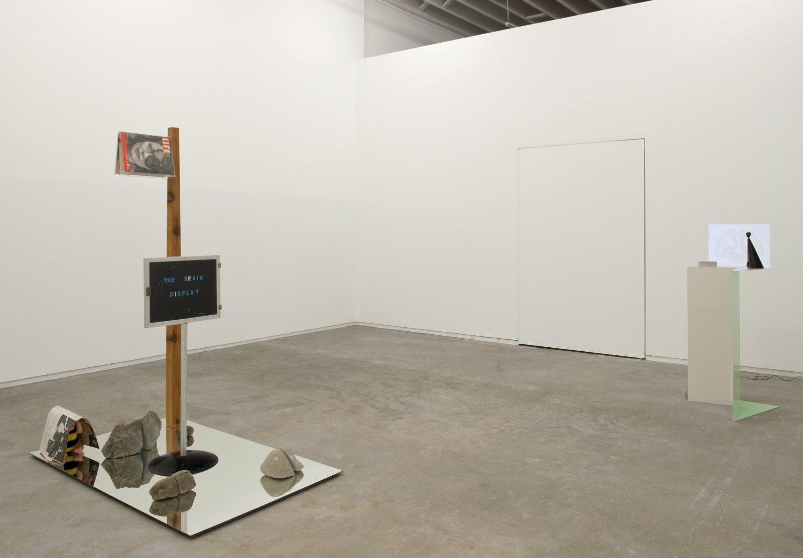 Judy Radul, installation view, Catriona Jeffries, 2012  by Judy Radul
