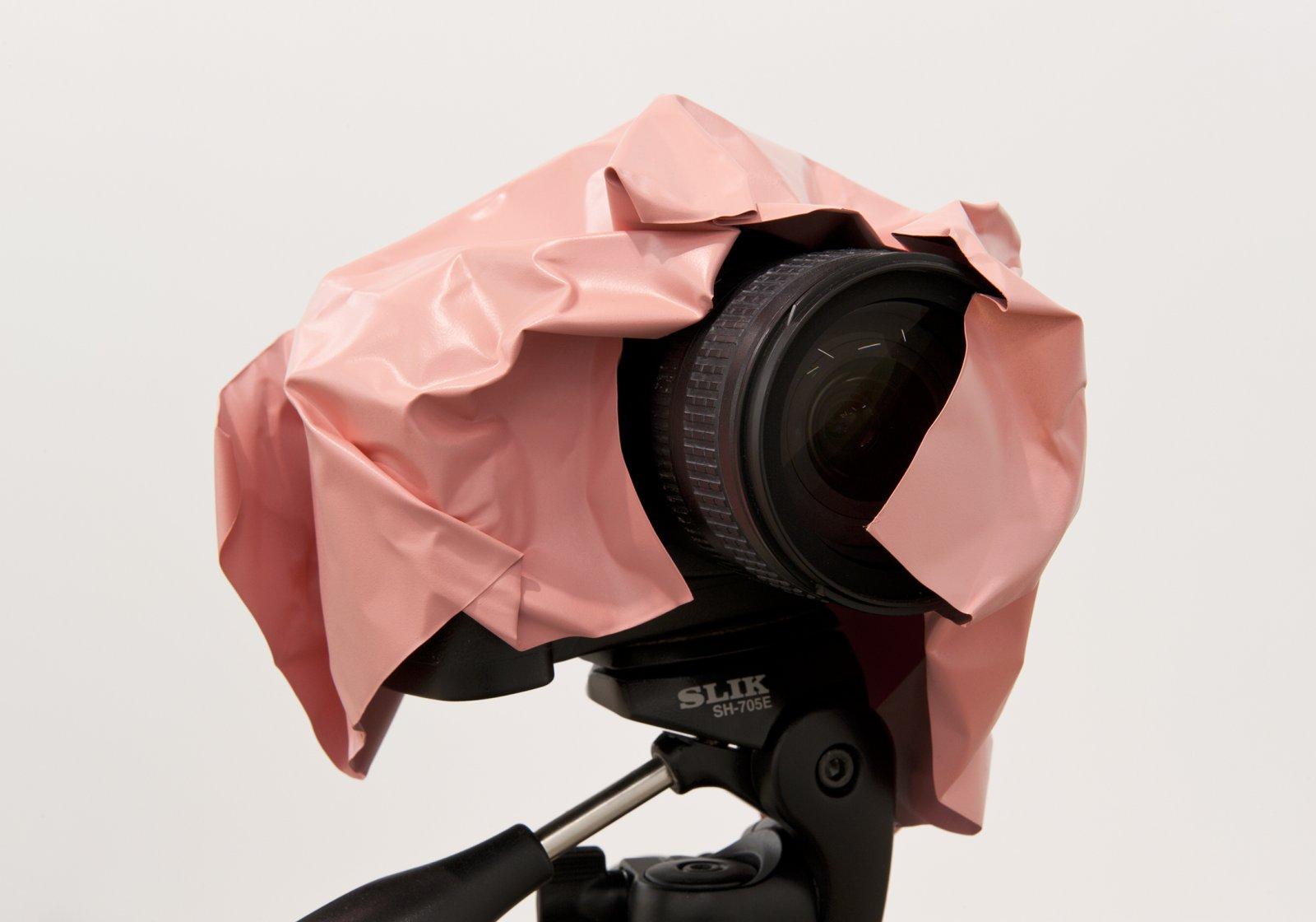 Judy Radul, Object Analysis Spectator Poem (Camera) (detail), 2012, painted copper, camera, tripod, colour photograph, camera: 57 x 26 x 23 in. (145 x 65 x 58 cm), photograph: 8 x 10 x 7 in. (20 x 25 x 18 cm) by Judy Radul
