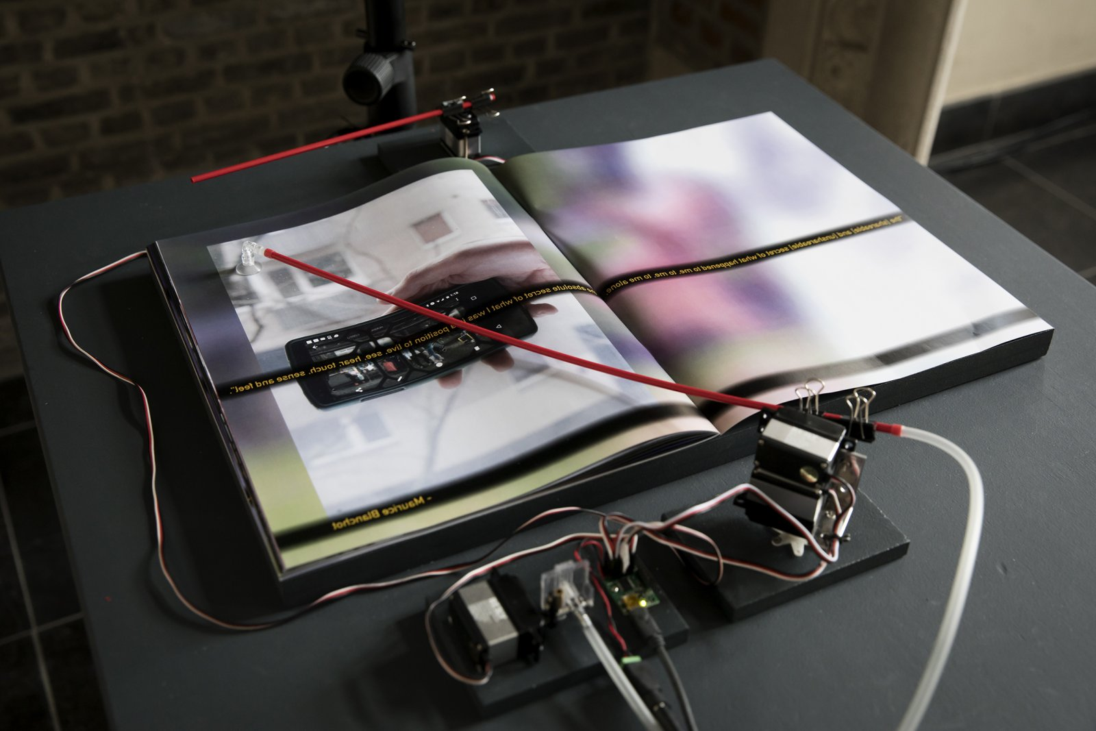 Judy Radul The Book Of Glass 2017 Catriona Jeffries Electrical Control Wiring Detail Multimedia Installation