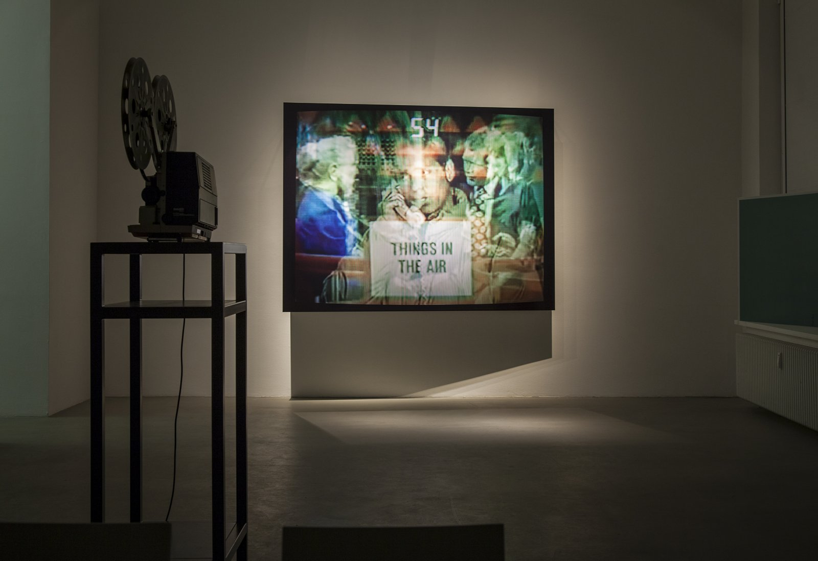 Judy Radul, installation view, This is Television, daadgalerie, Berlin, 2013 by Judy Radul
