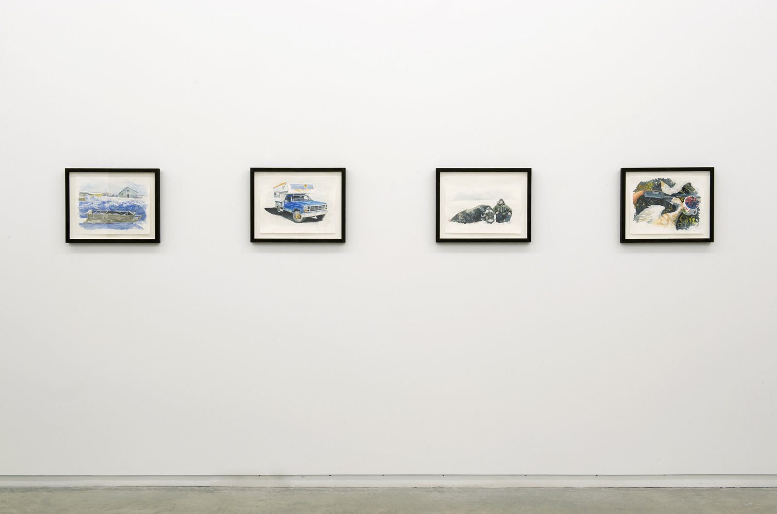 ​Kevin Schmidt, installation view, Catriona Jeffries, 2010 by Kevin Schmidt
