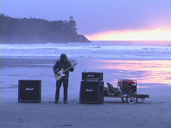 Kevin Schmidt, Long Beach Led Zep (still), 2002, single channel video from DVD, 8 minutes, 40 seconds looped