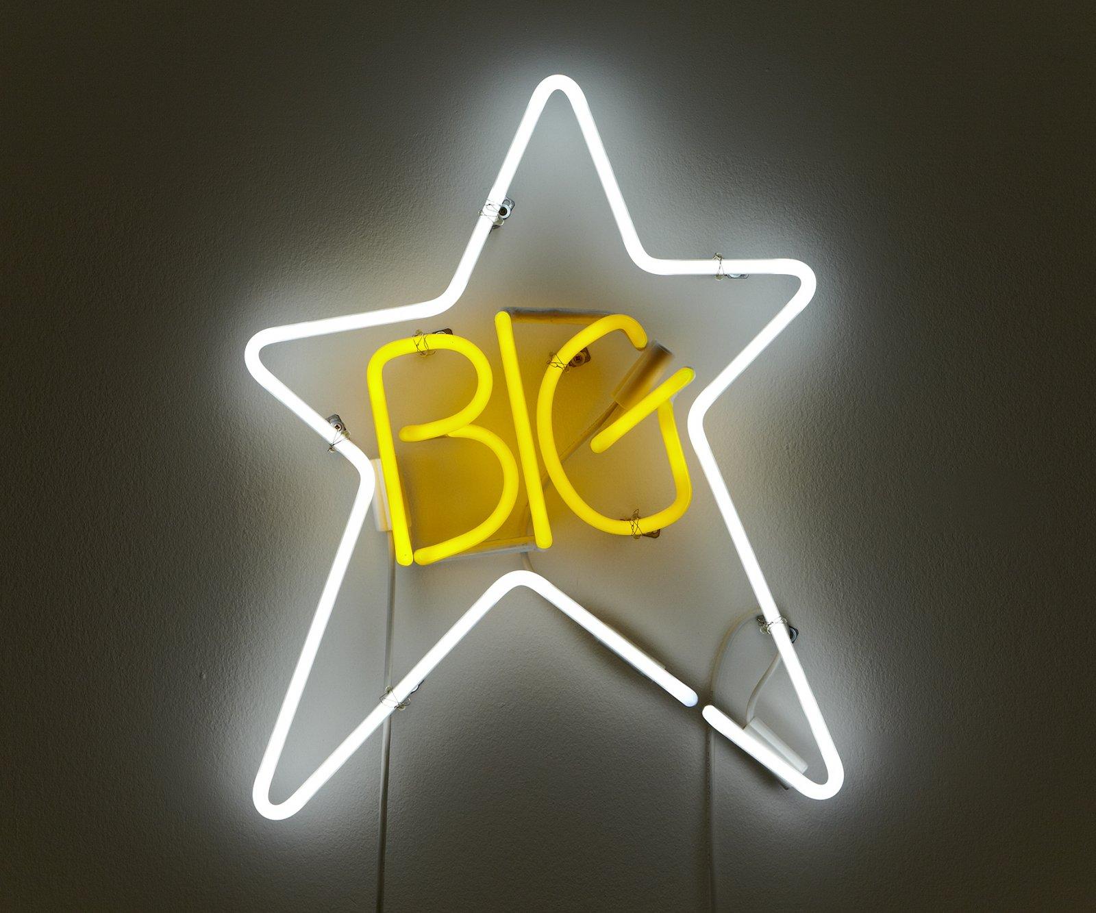 Ron Terada,Big Star, 2003, neon, 24 x 19 in. (61 x 48 cm)