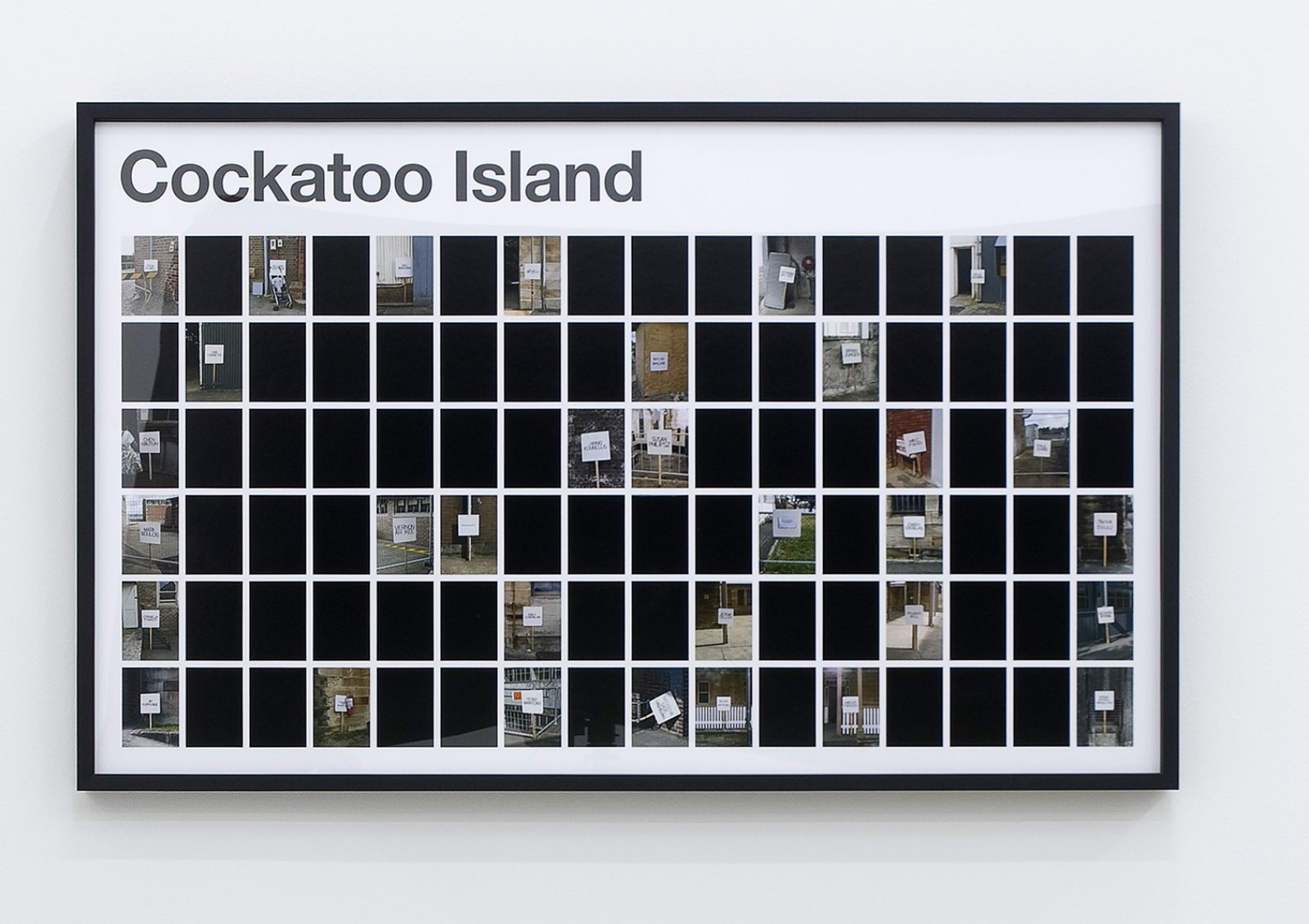 Ron Terada, Cockatoo Island, 2009, pigment ink print on archival paper, 26 x 42 in. (66 x 107 cm)