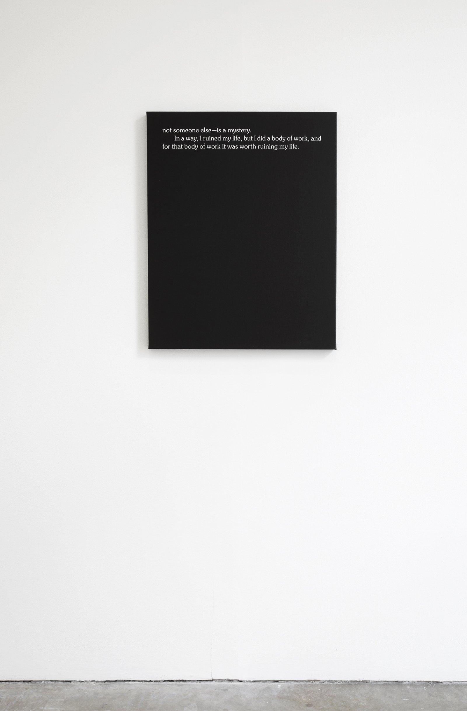 Ron Terada,Jack, 2010, acrylic on canvas, 30 x 24 in. (76 x 61 cm)