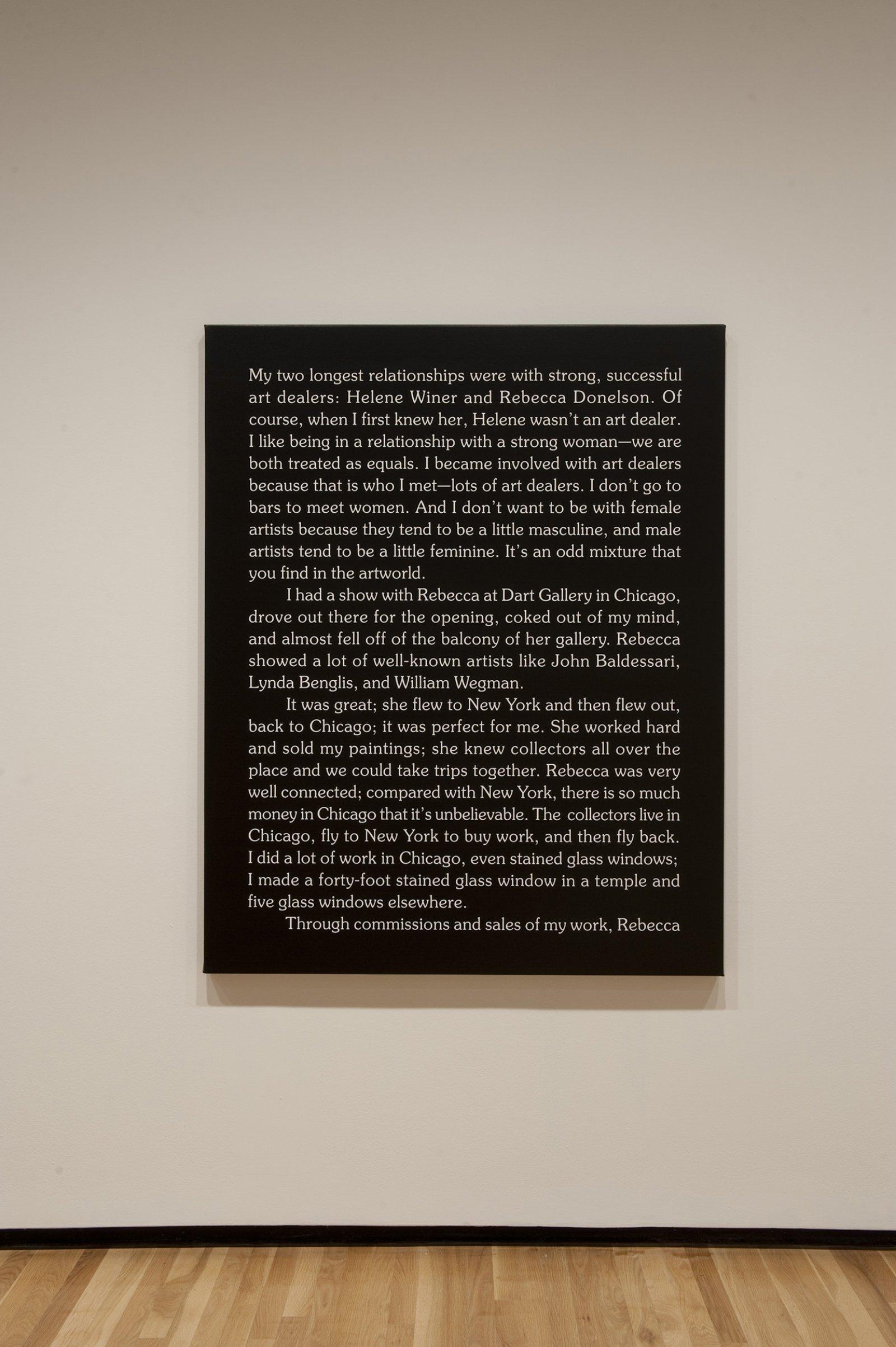 Ron Terada,Jack, 2010, acrylic on canvas, 60 x 48 in. (152 x 122 cm)