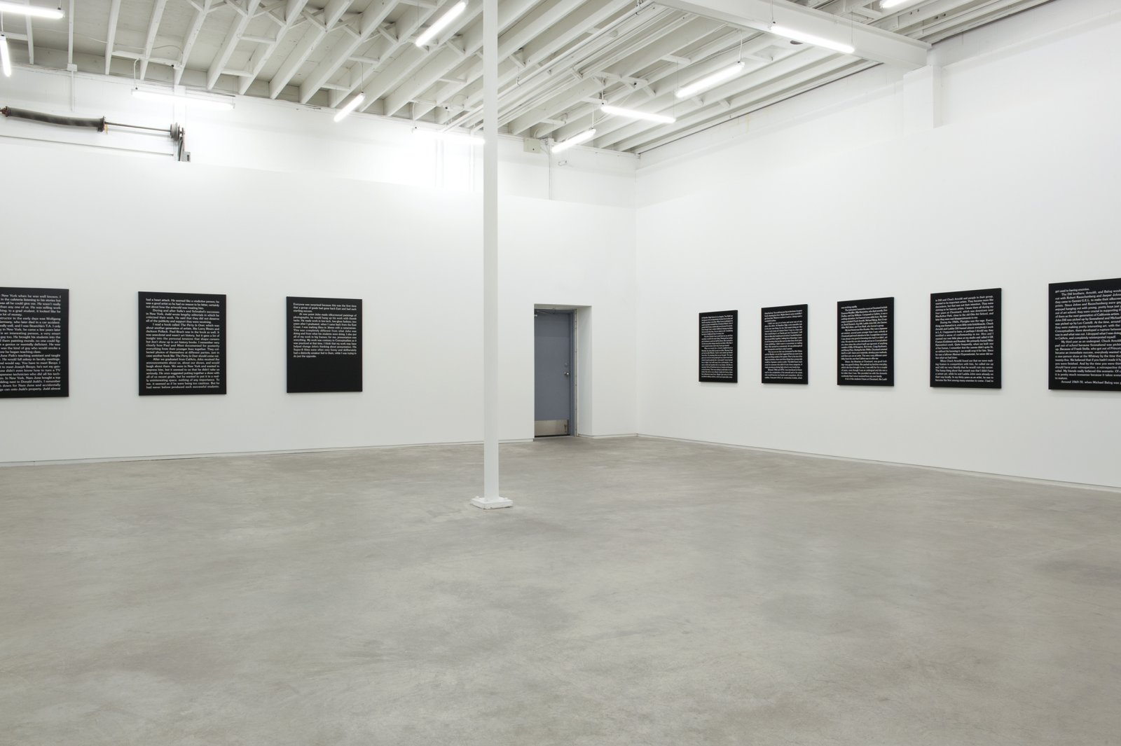 Ron Terada, installation view, Jack, Catriona Jeffries, 2011 by Ron Terada