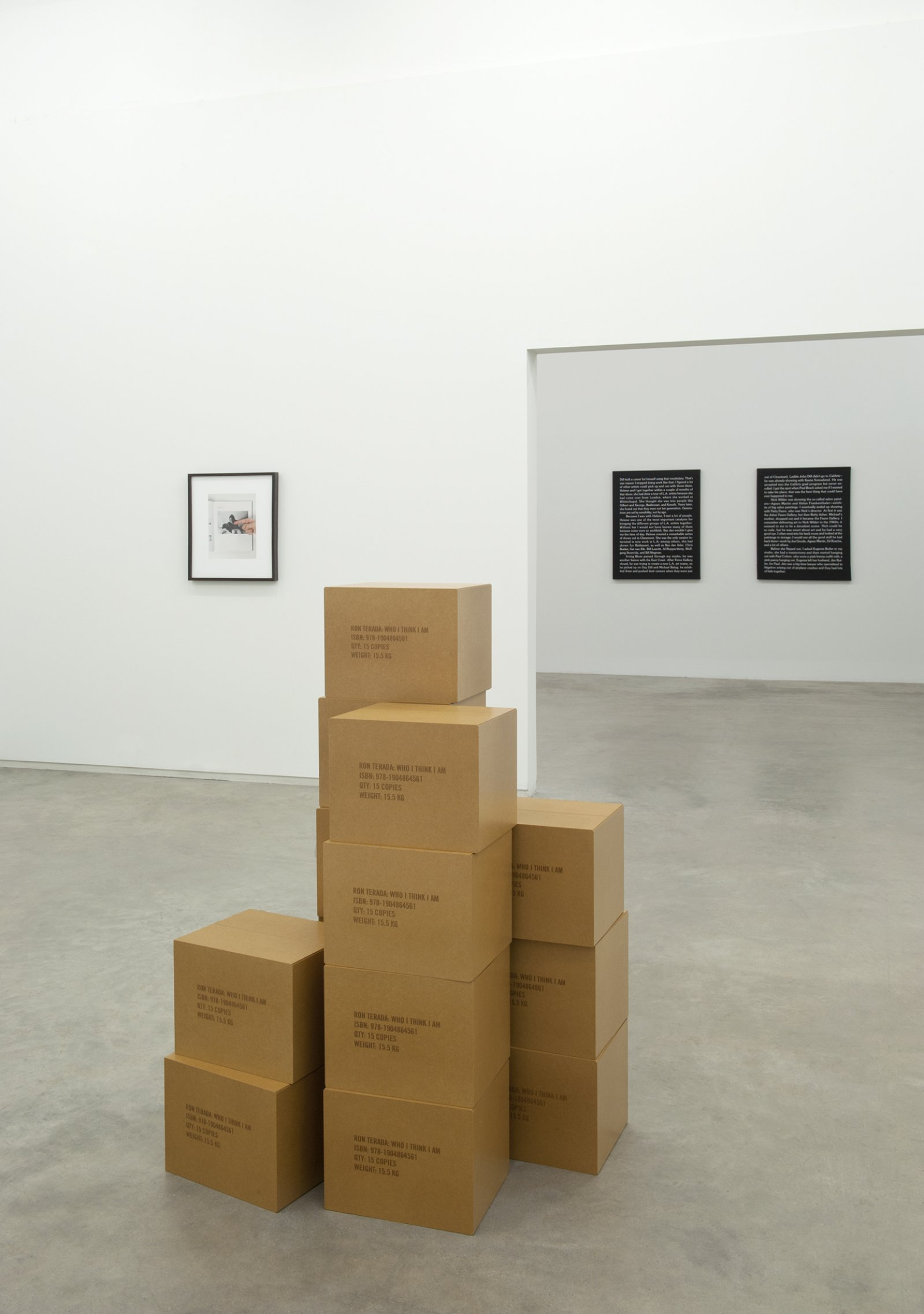 Ron Terada, installation view, Jack, Catriona Jeffries, 2011​​ by Ron Terada